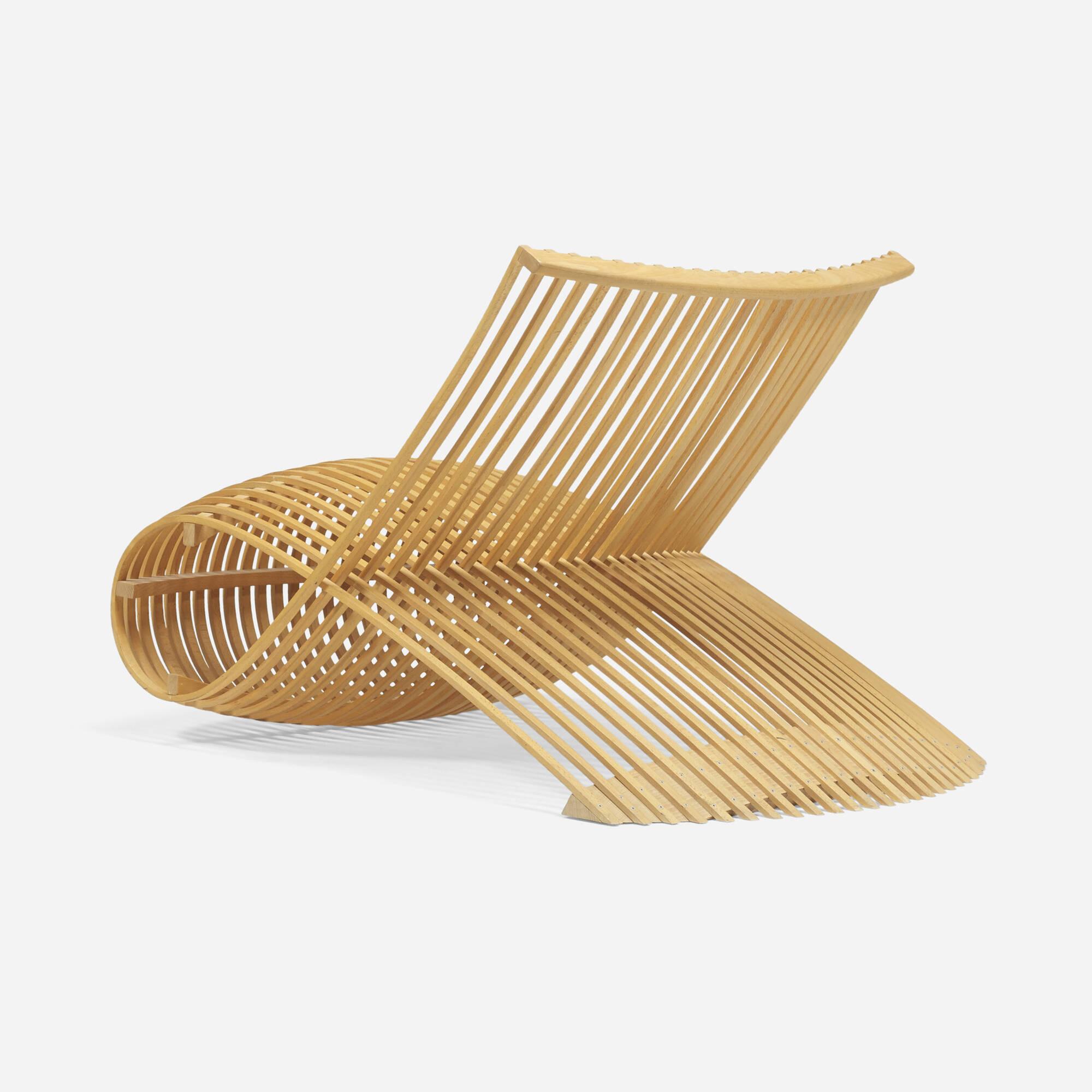 Bon 281: Marc Newson / Wooden Chair (2 Of 5) ...