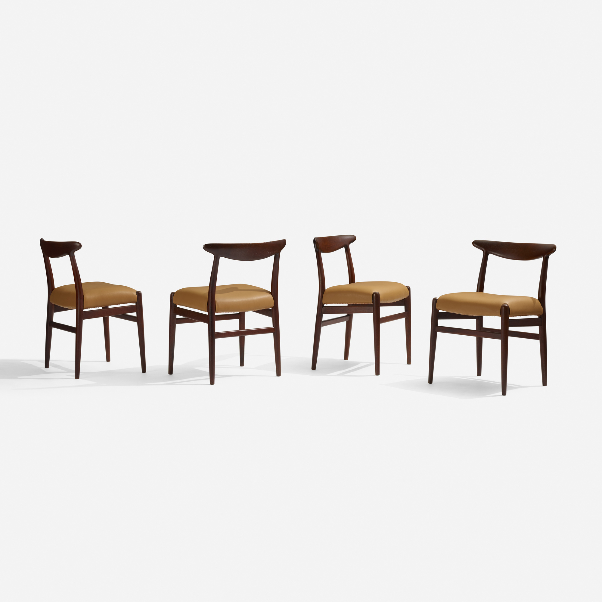 281: Hans J. Wegner / dining chairs, set of eight (3 of 3)