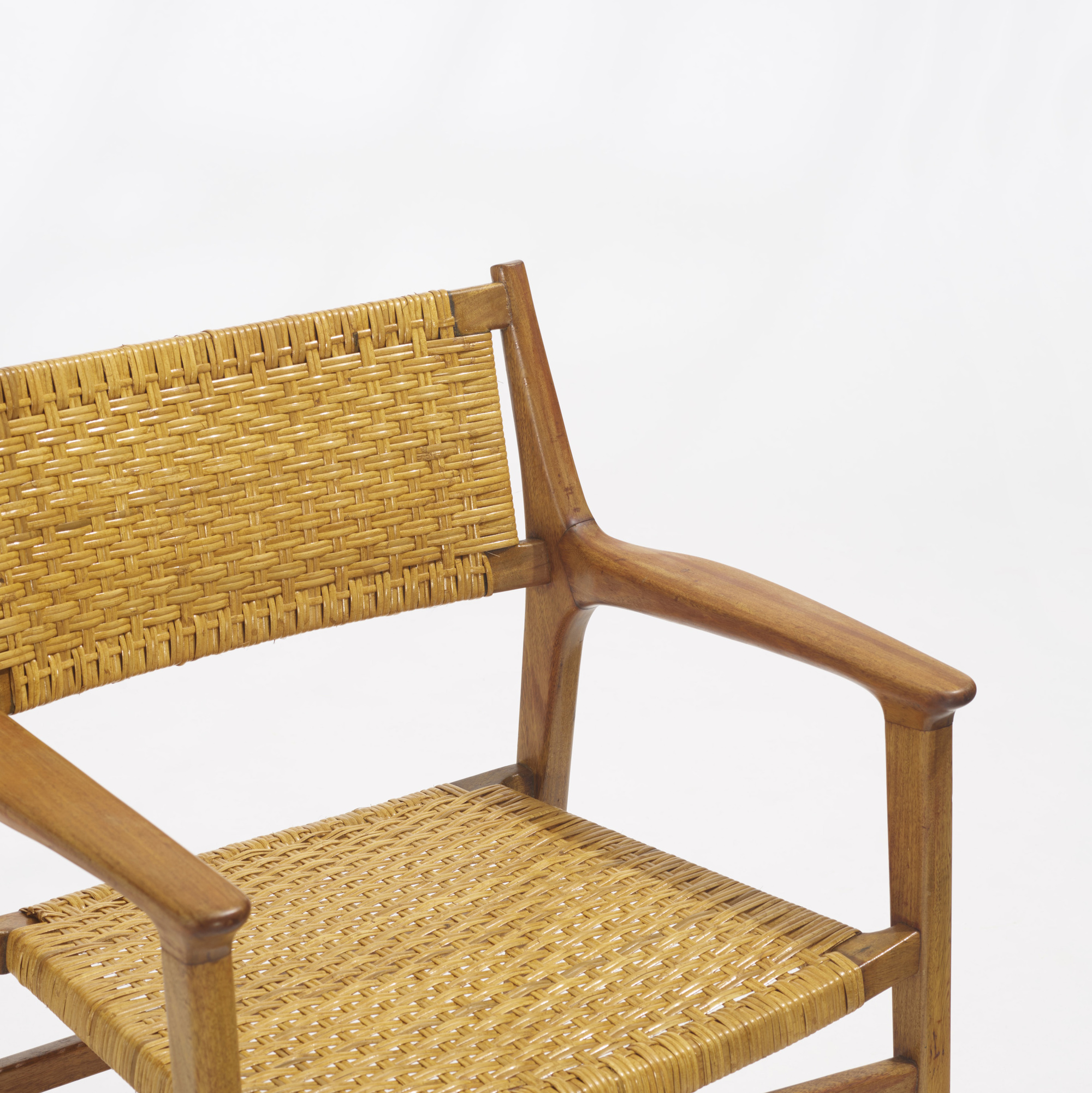 281: Hans J. Wegner / rare lounge chairs, pair (3 of 3)