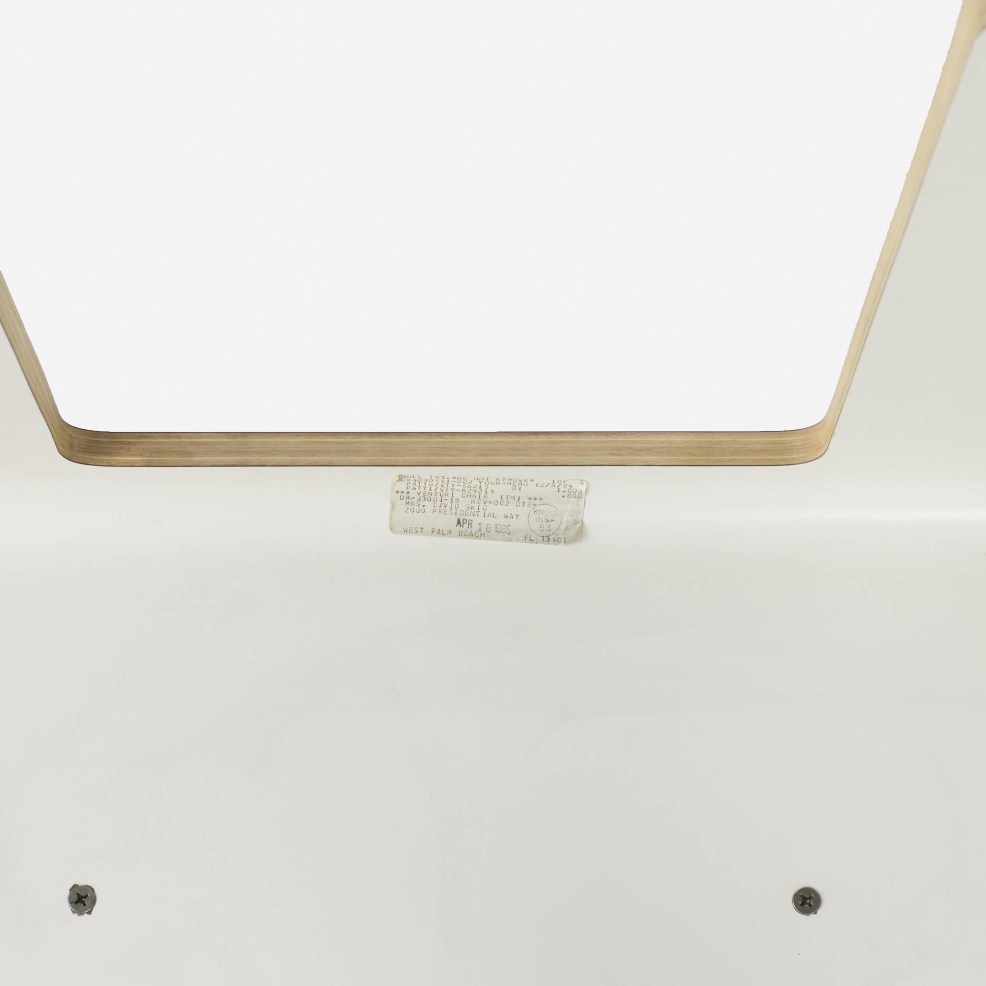 281: Robert Venturi / Chippendale chairs, set of six (4 of 4)