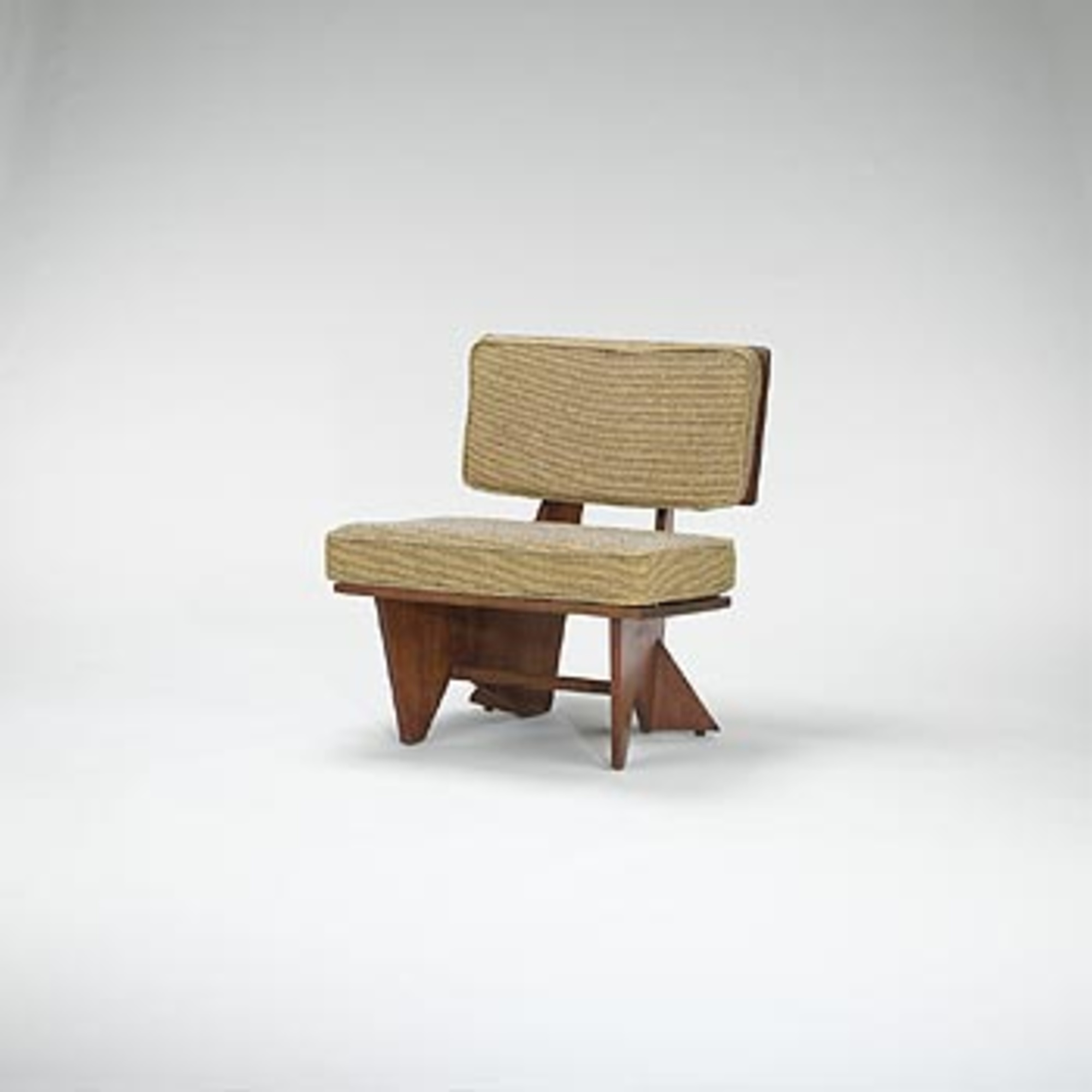 Miraculous 282 Frank Lloyd Wright Lounge Chair From The Robert Winn Theyellowbook Wood Chair Design Ideas Theyellowbookinfo