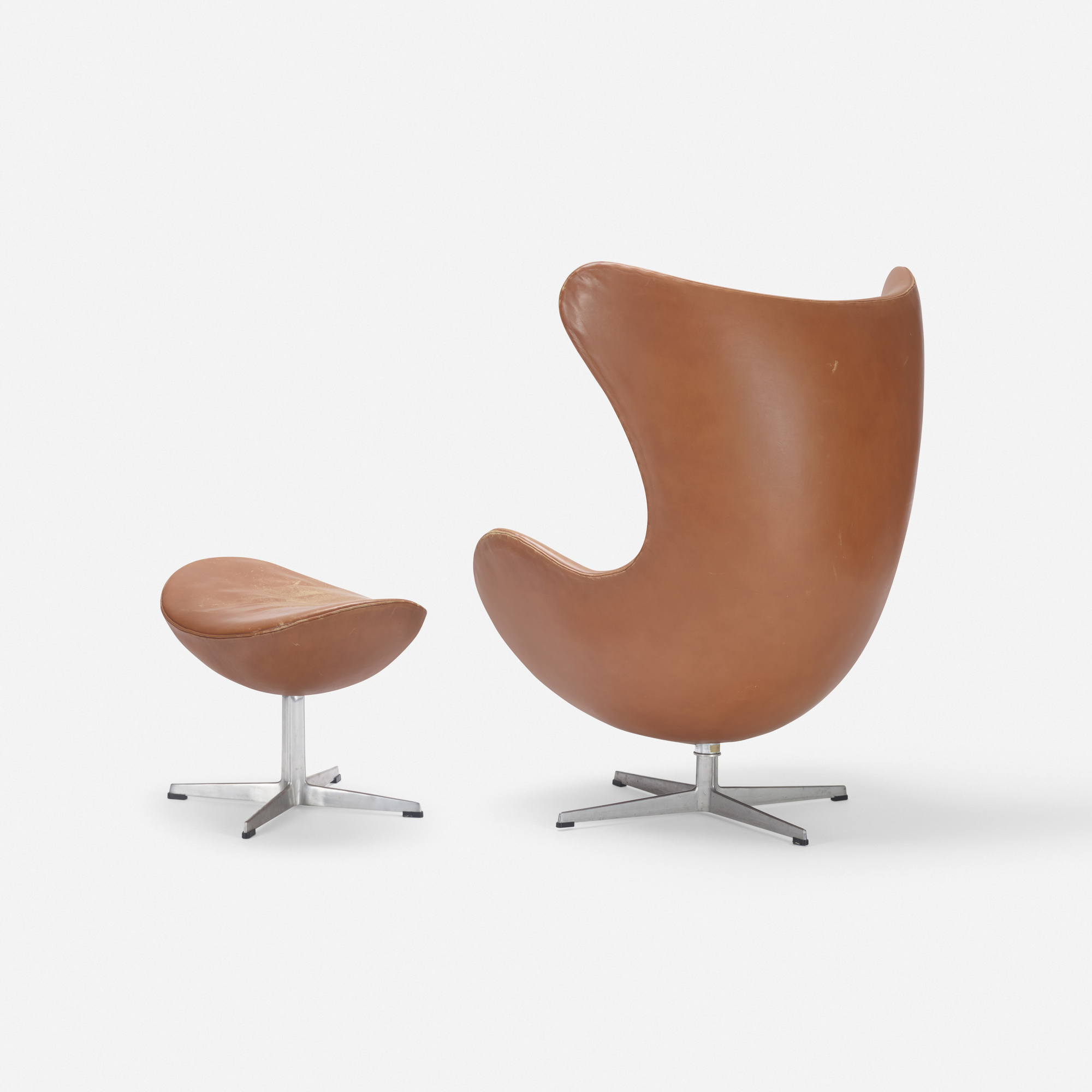 282 Arne Jacobsen Egg Chair And Ottoman Design 22 March 2018 Auctions Wright Auctions Of Art And Design