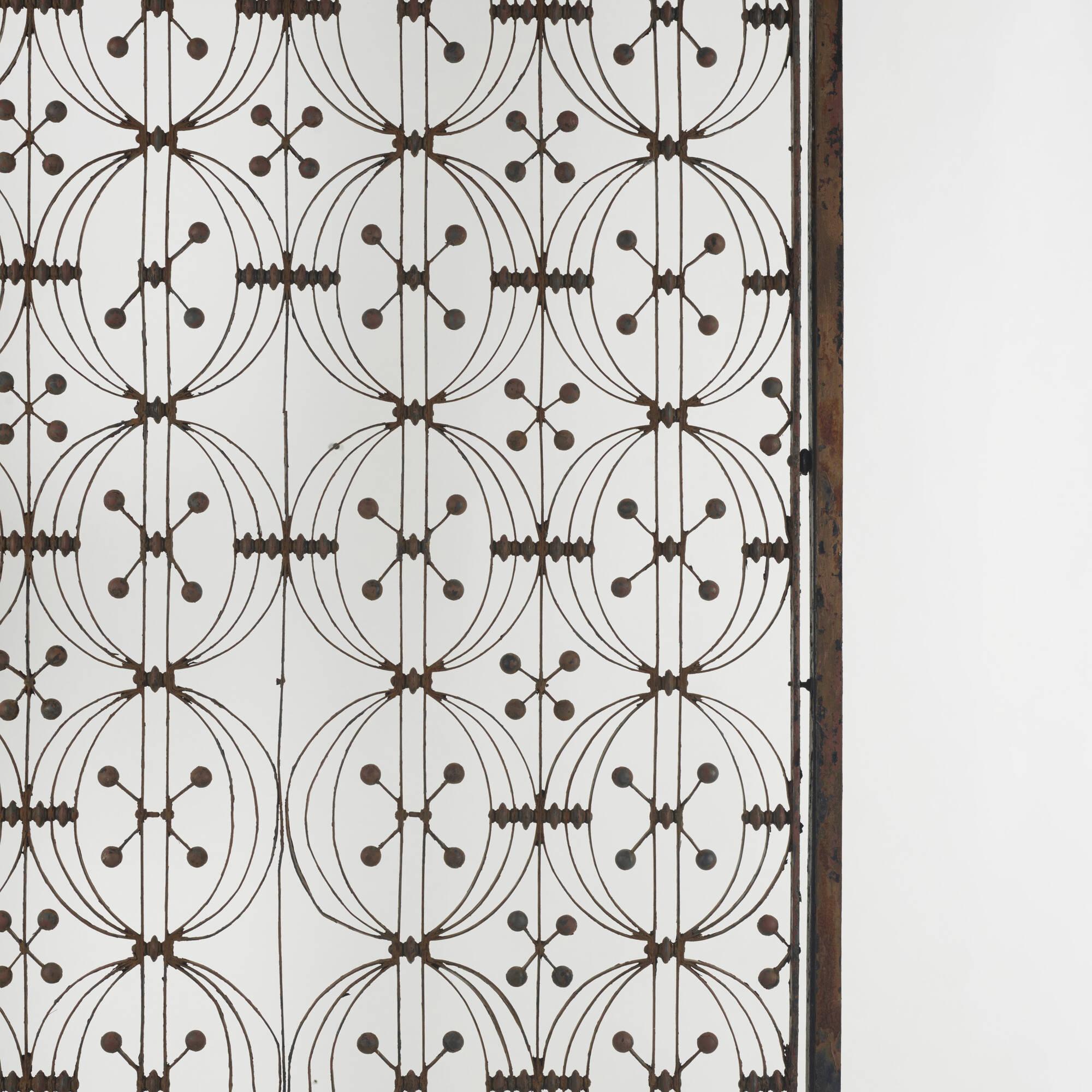 283: Dankmar Adler and Louis Sullivan / elevator door from the Chicago Stock Exchange (2 of 2)