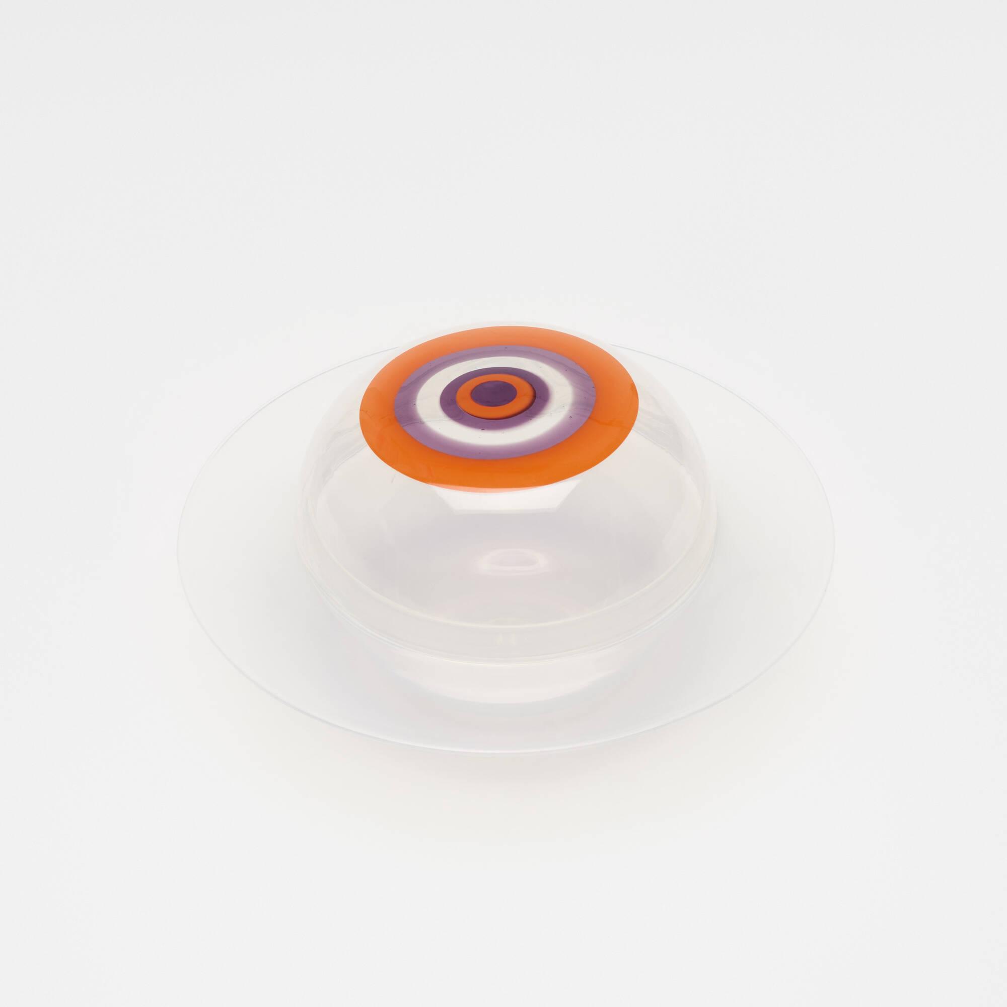 283: Lino Tagliapietra / Saturno bowl with lid (2 of 2)
