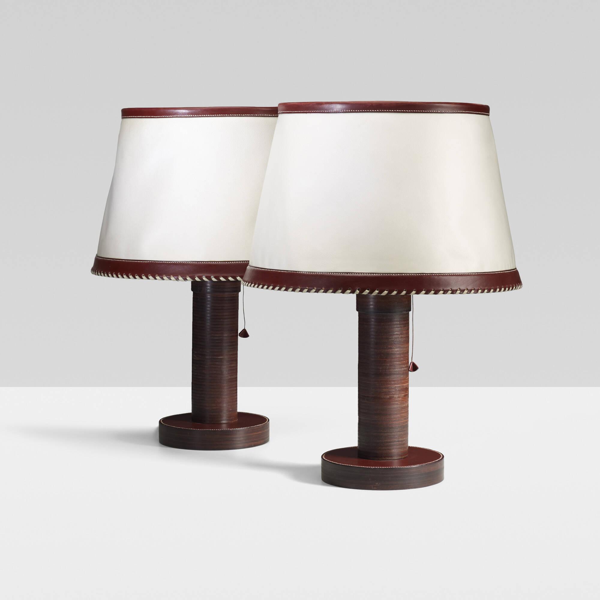 Peachy 284 Paul Dupre Lafon Table Lamps Pair Important Design Interior Design Ideas Inesswwsoteloinfo
