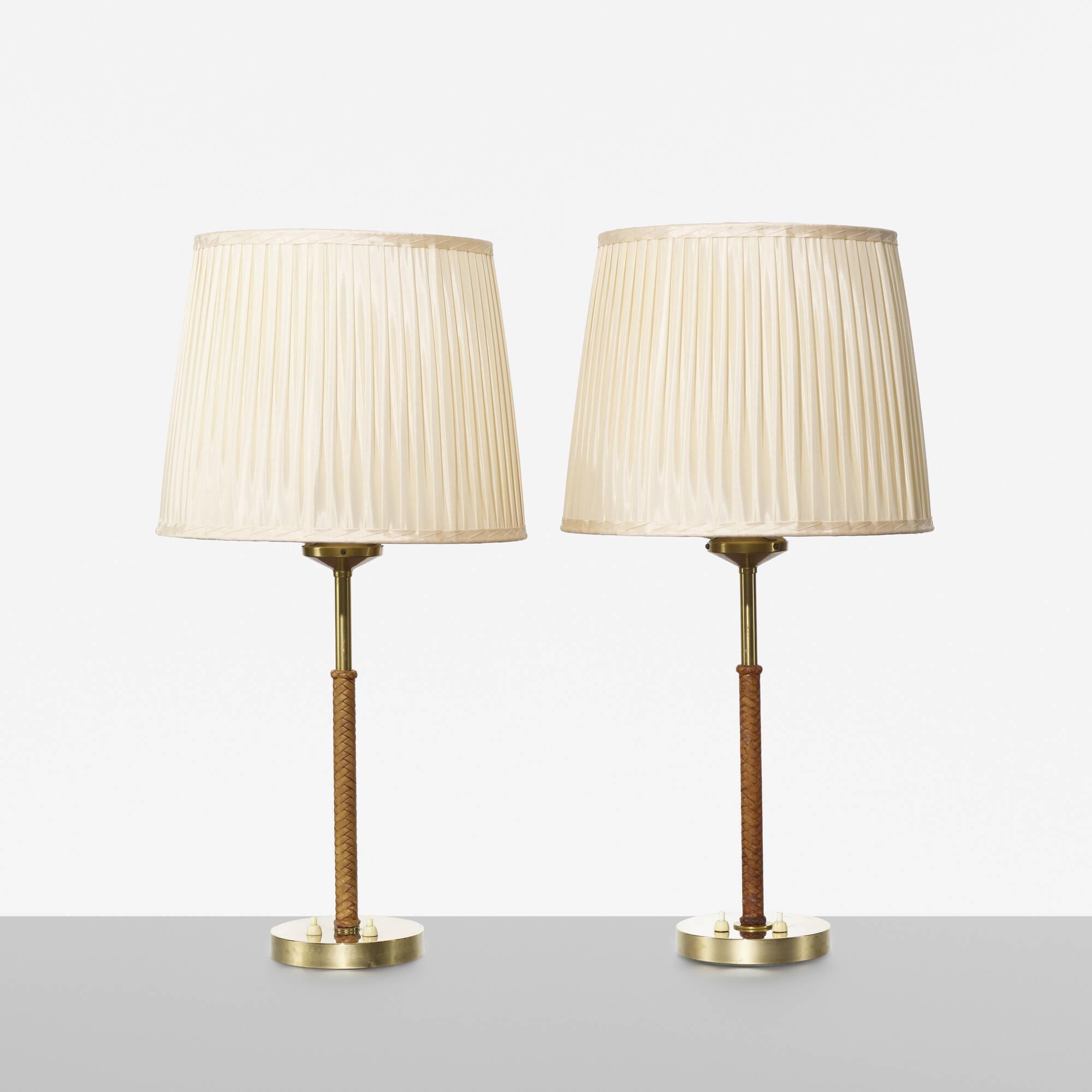 284: Bertil Brisborg / table lamps, pair (1 of 2)