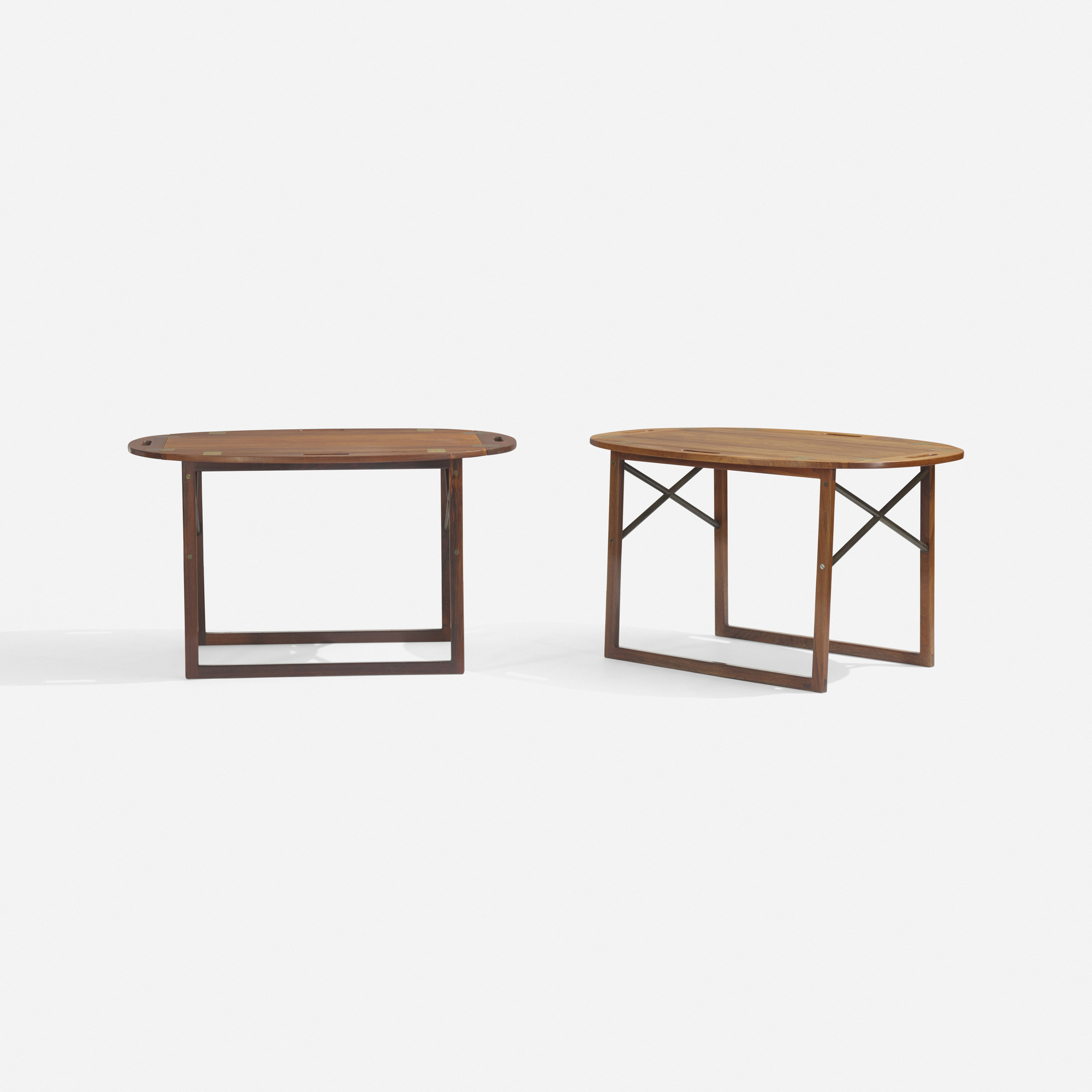 284: Svend Langkilde / tray tables, pair (2 of 2)