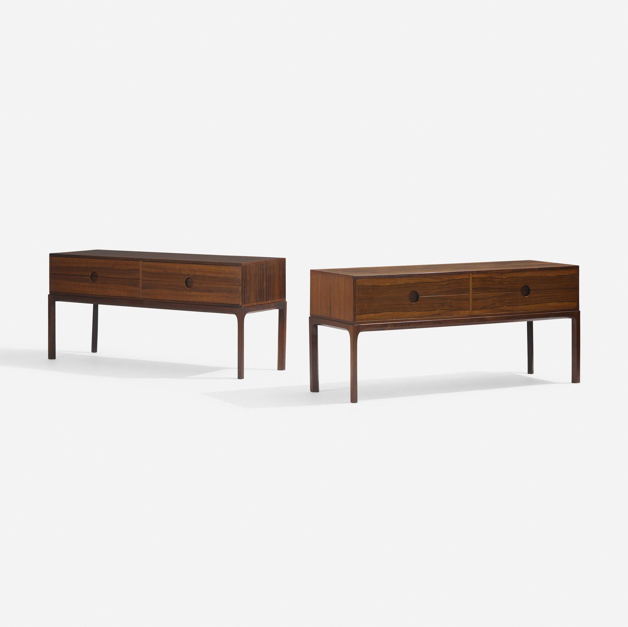 285: Aksel Kjersgaard / cabinets, pair (1 of 4)