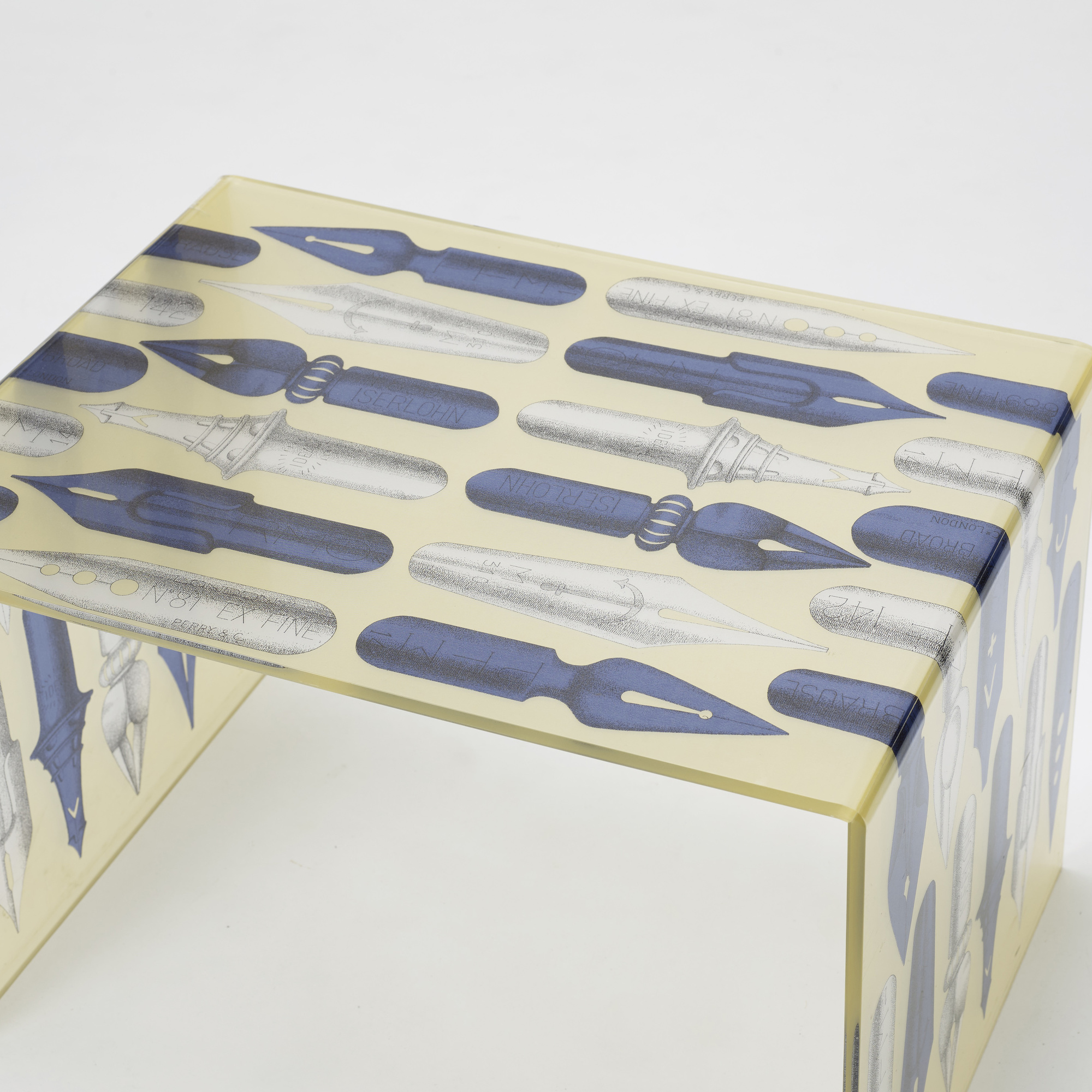 285: After Piero Fornasetti / coffee table (2 of 2)