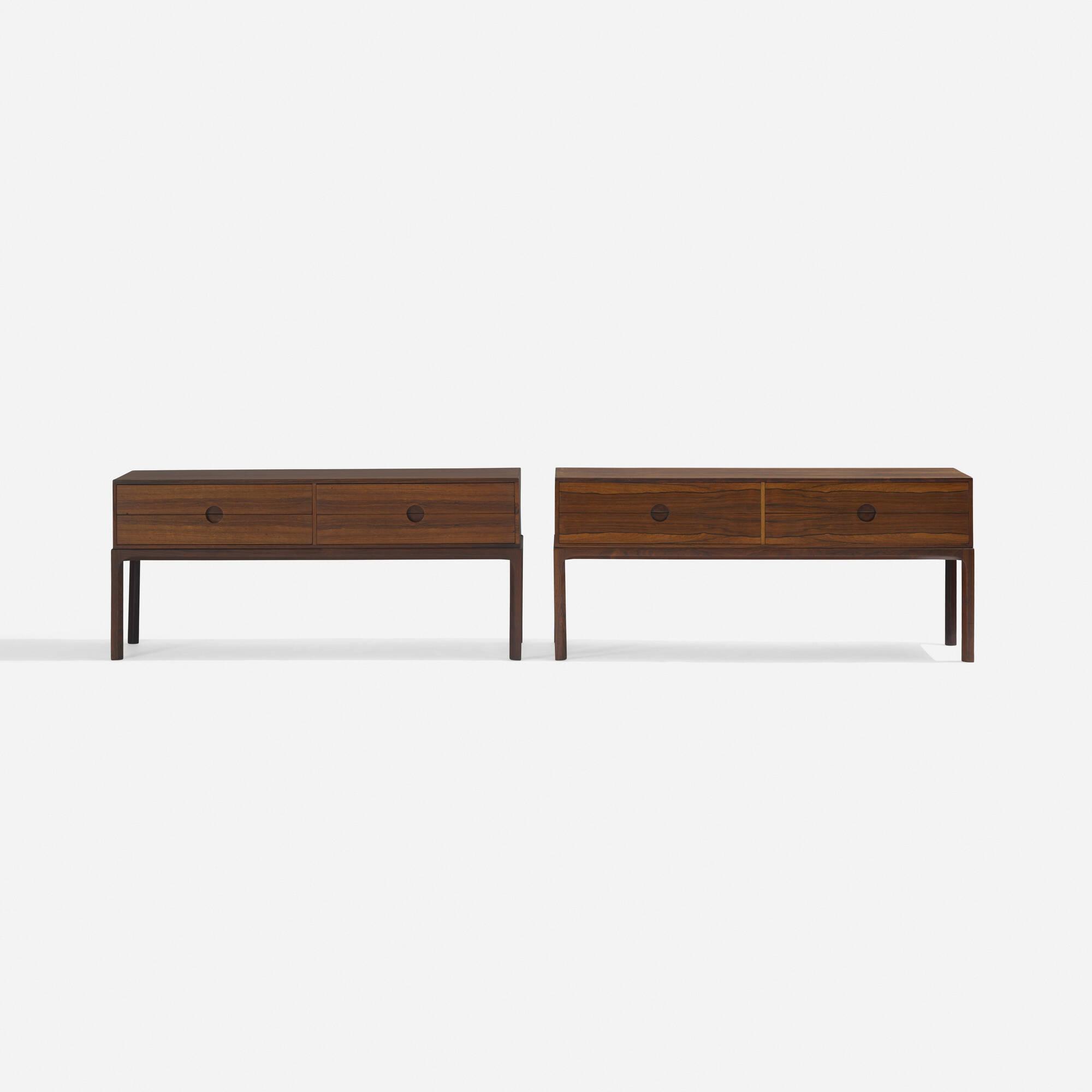 285: Aksel Kjersgaard / cabinets, pair (2 of 4)