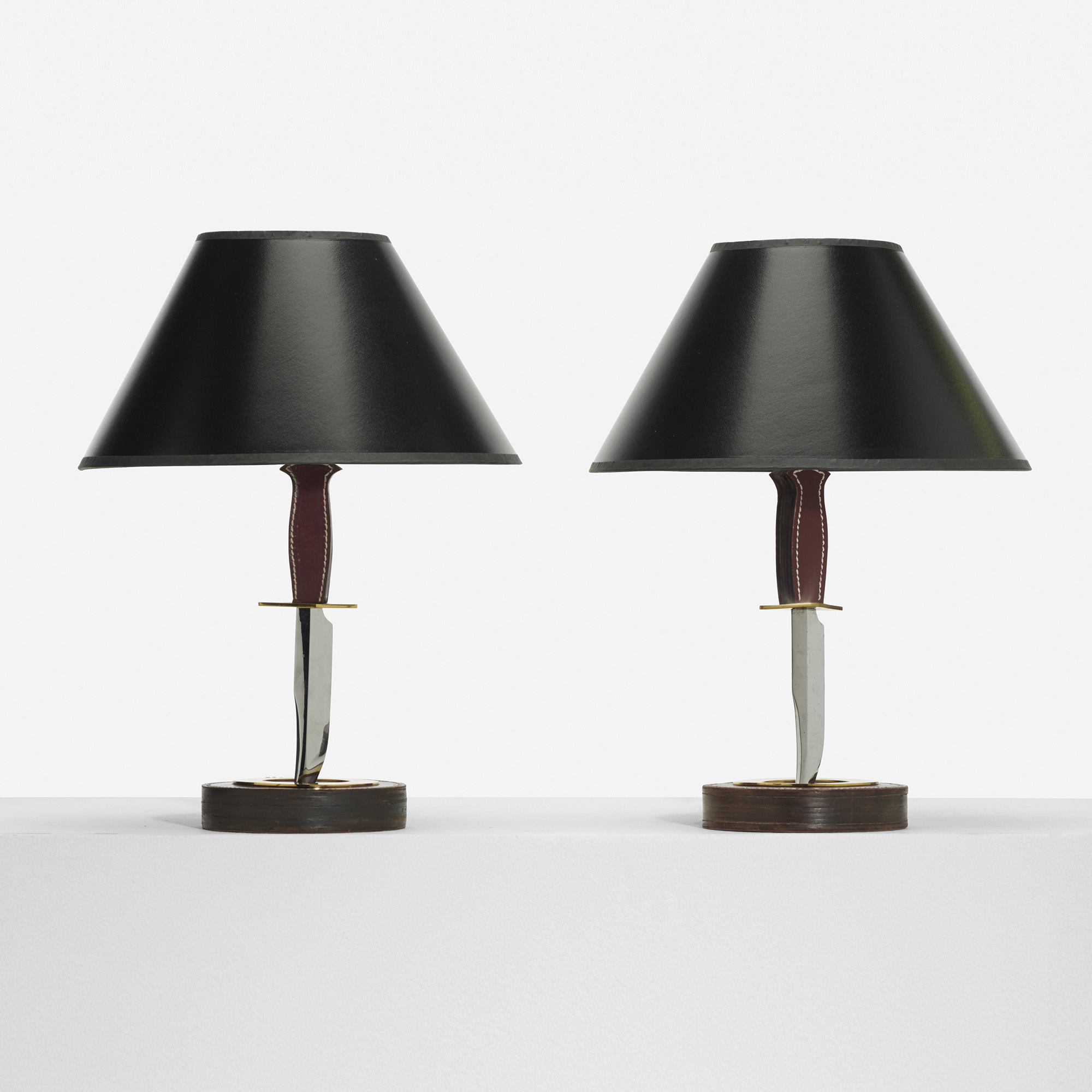 Stupendous 286 Hermes Table Lamps Pair Design 12 December 2013 Home Interior And Landscaping Mentranervesignezvosmurscom