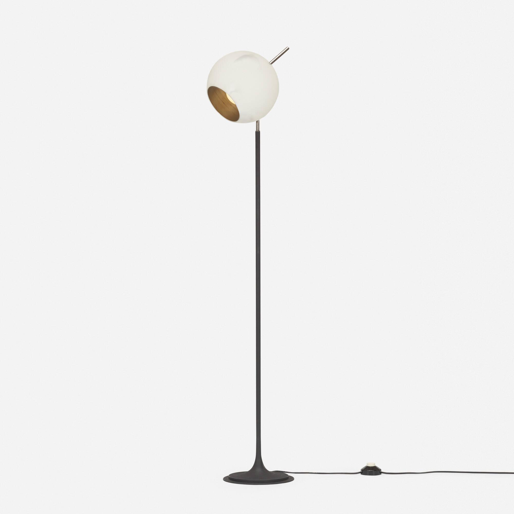 286: Gino Sarfatti / floor lamp, model 1082 N (1 of 3)