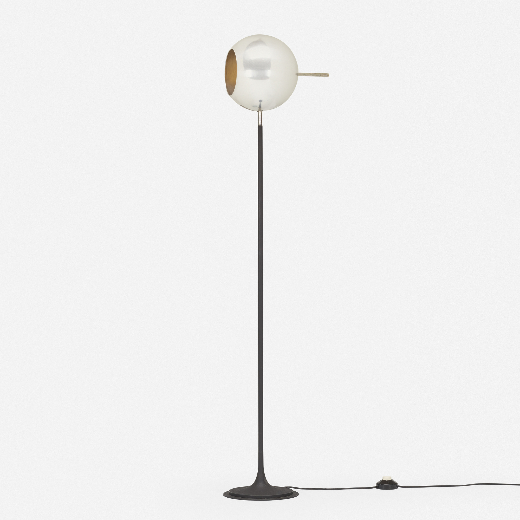 286: Gino Sarfatti / floor lamp, model 1082 N (2 of 3)