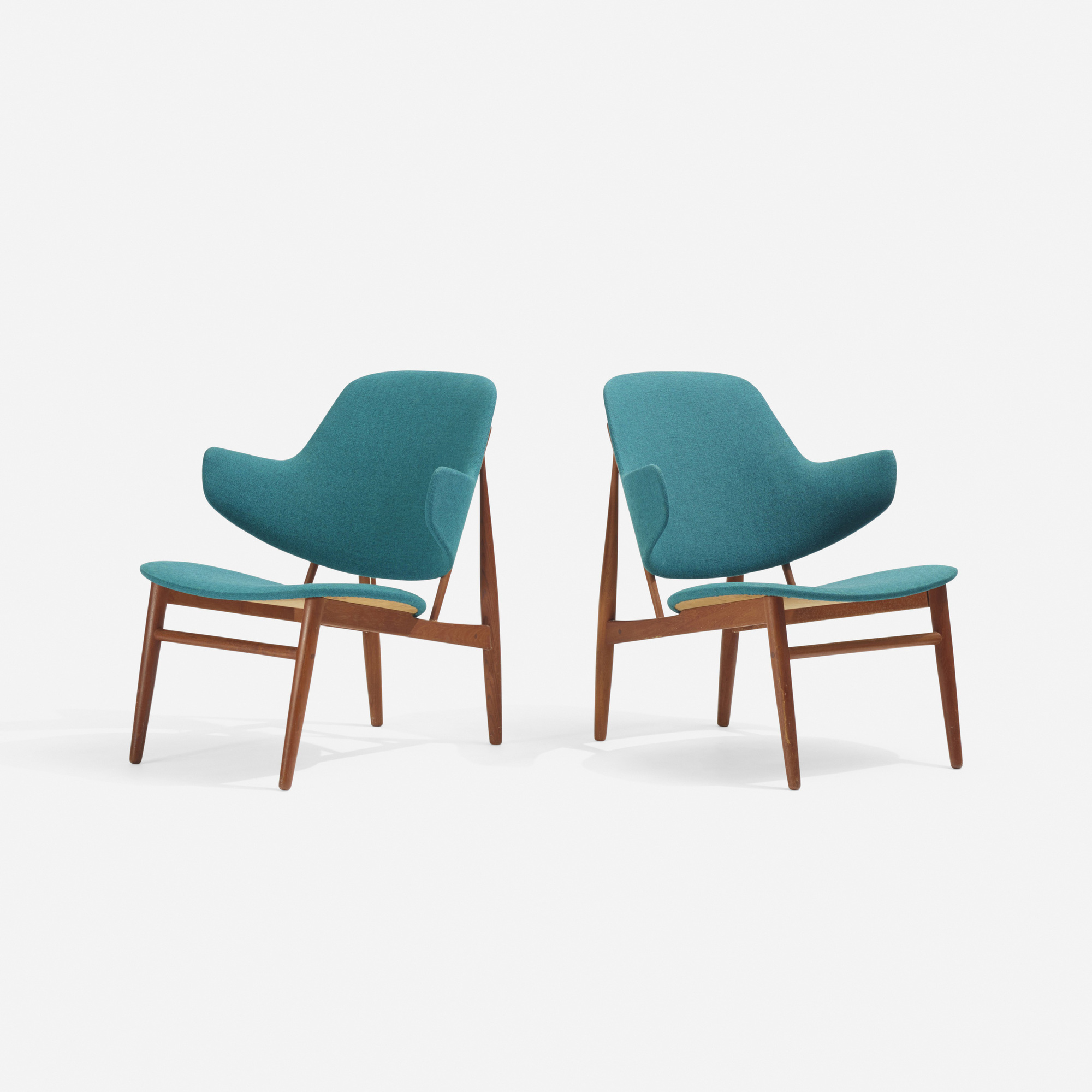 286: Ib Kofod-Larsen / lounge chairs, pair (2 of 3)