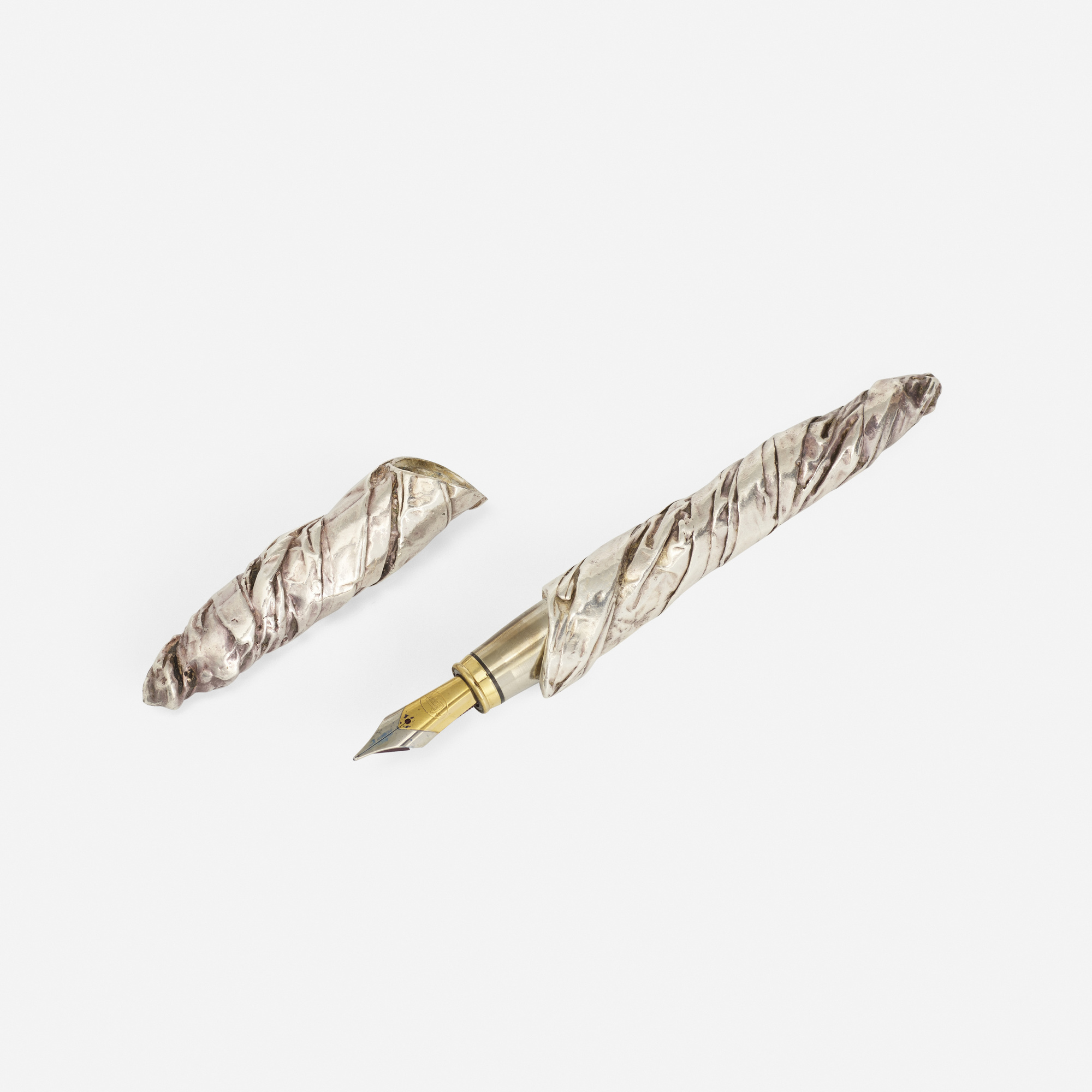 287: César (César Baldaccini) / A silver and gold pen (1 of 2)