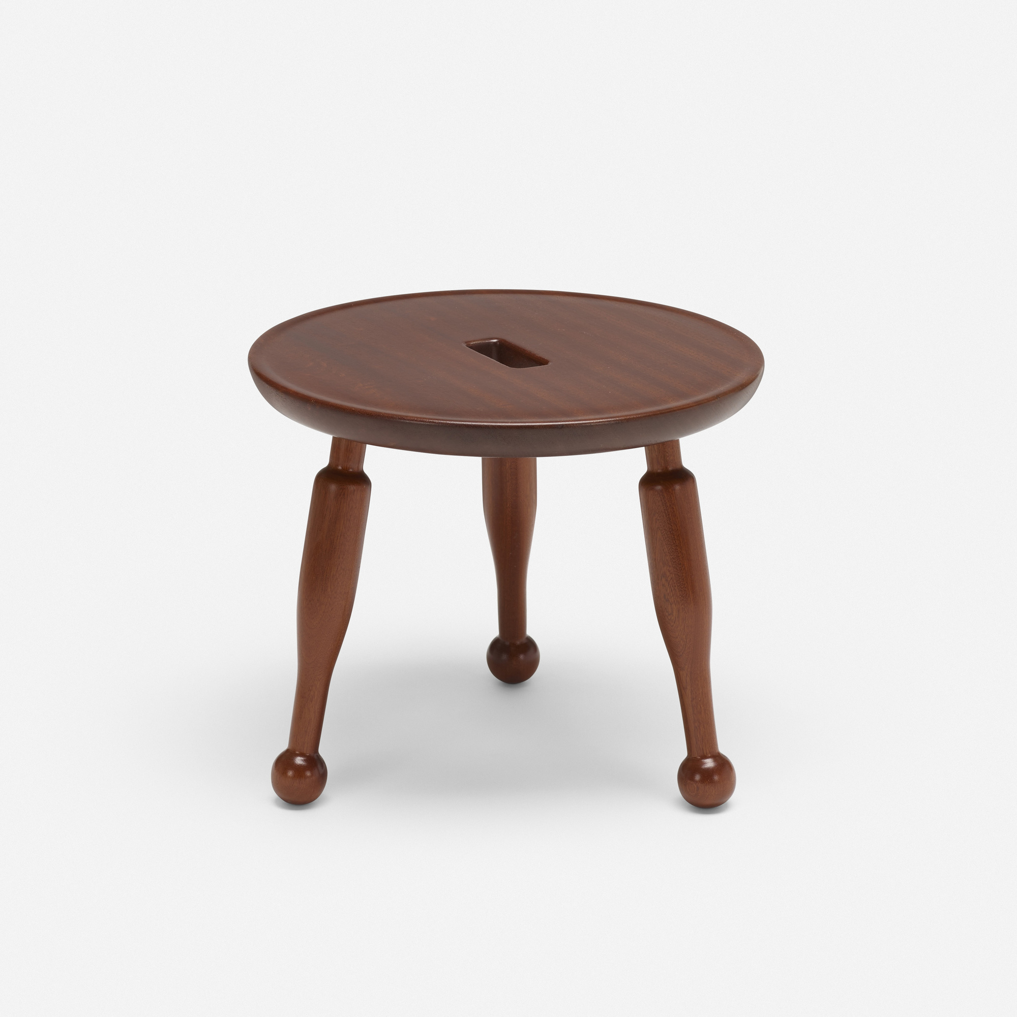 287: Josef Frank / stool, model 2156 (1 of 2)