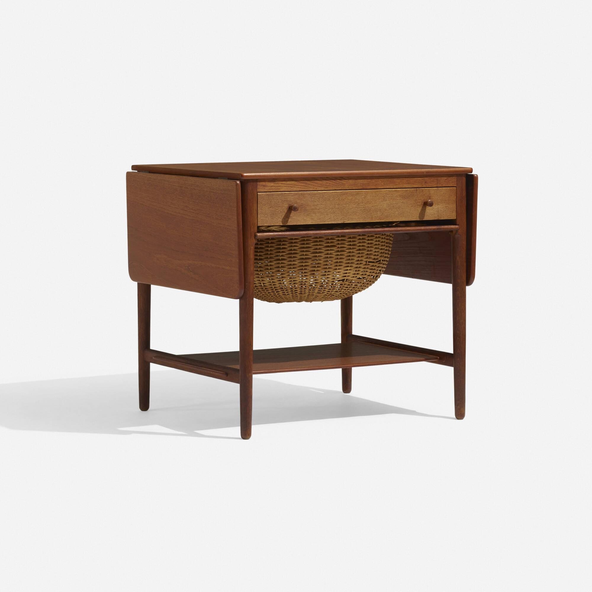 287: Hans J. Wegner / sewing table, model AT 33 (1 of 3)