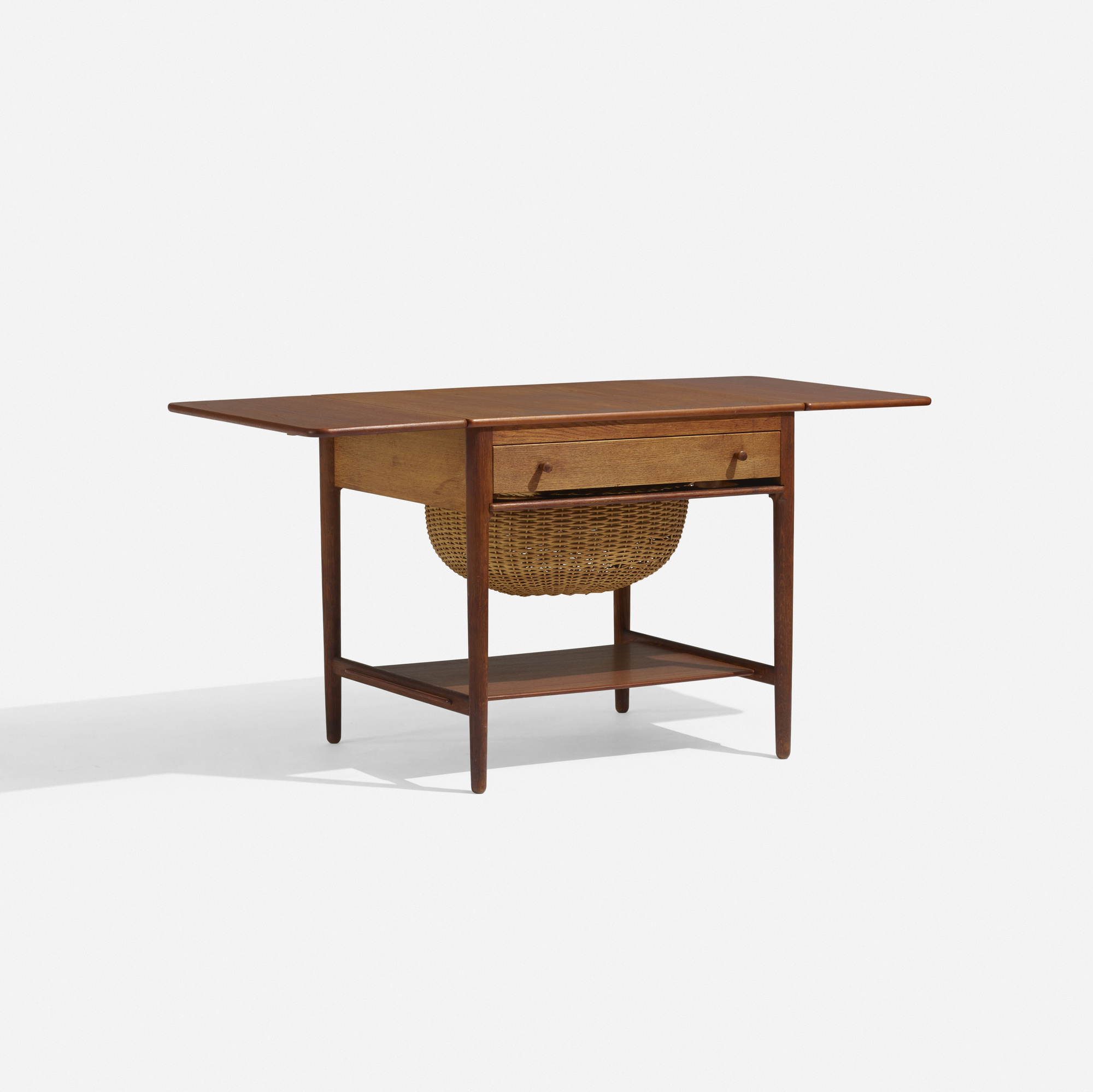 287: Hans J. Wegner / sewing table, model AT 33 (2 of 3)