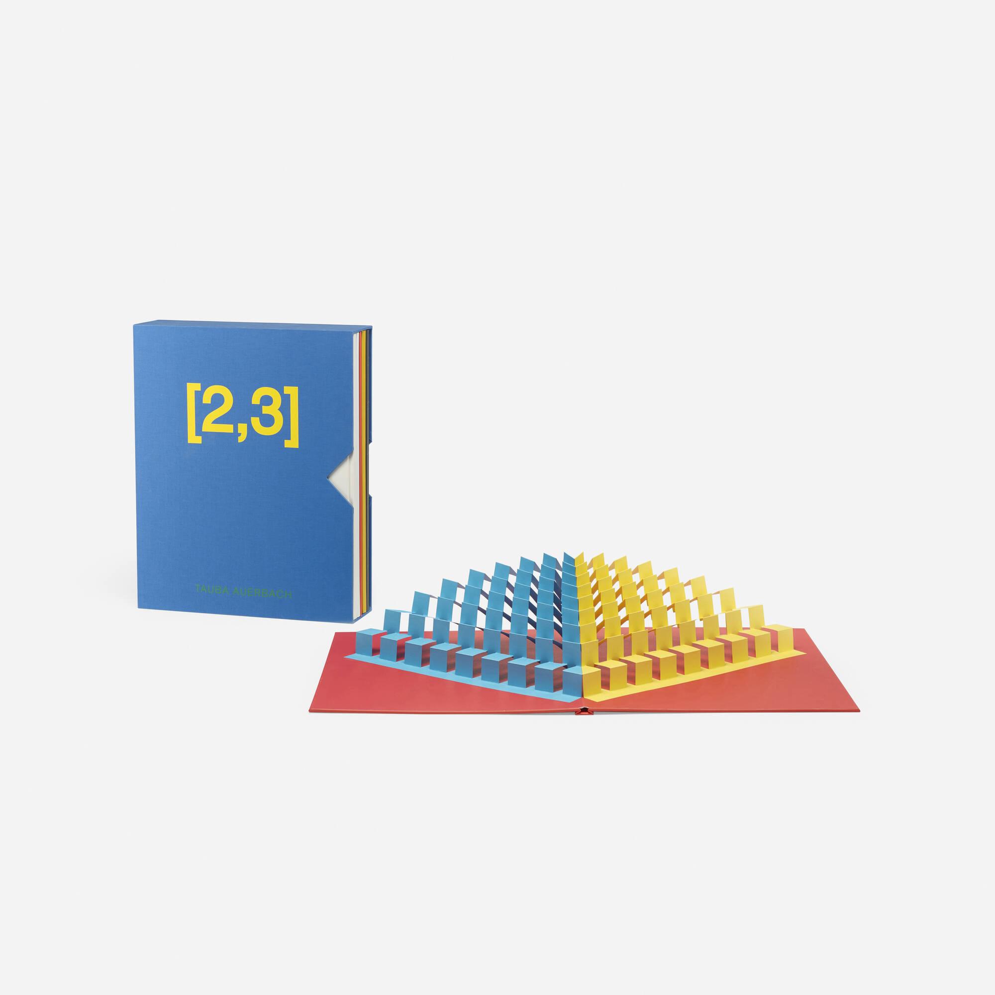 288: Tauba Auerbach / [2,3] (1 of 3)