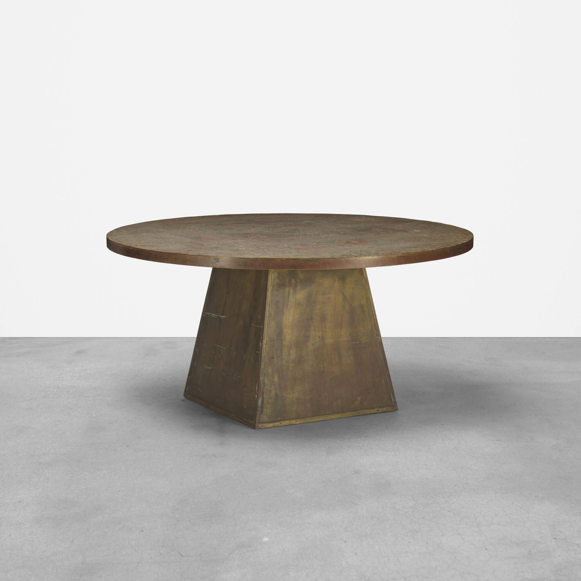 289: Philip and Kelvin LaVerne / rare Pharoah table (1 of 3)