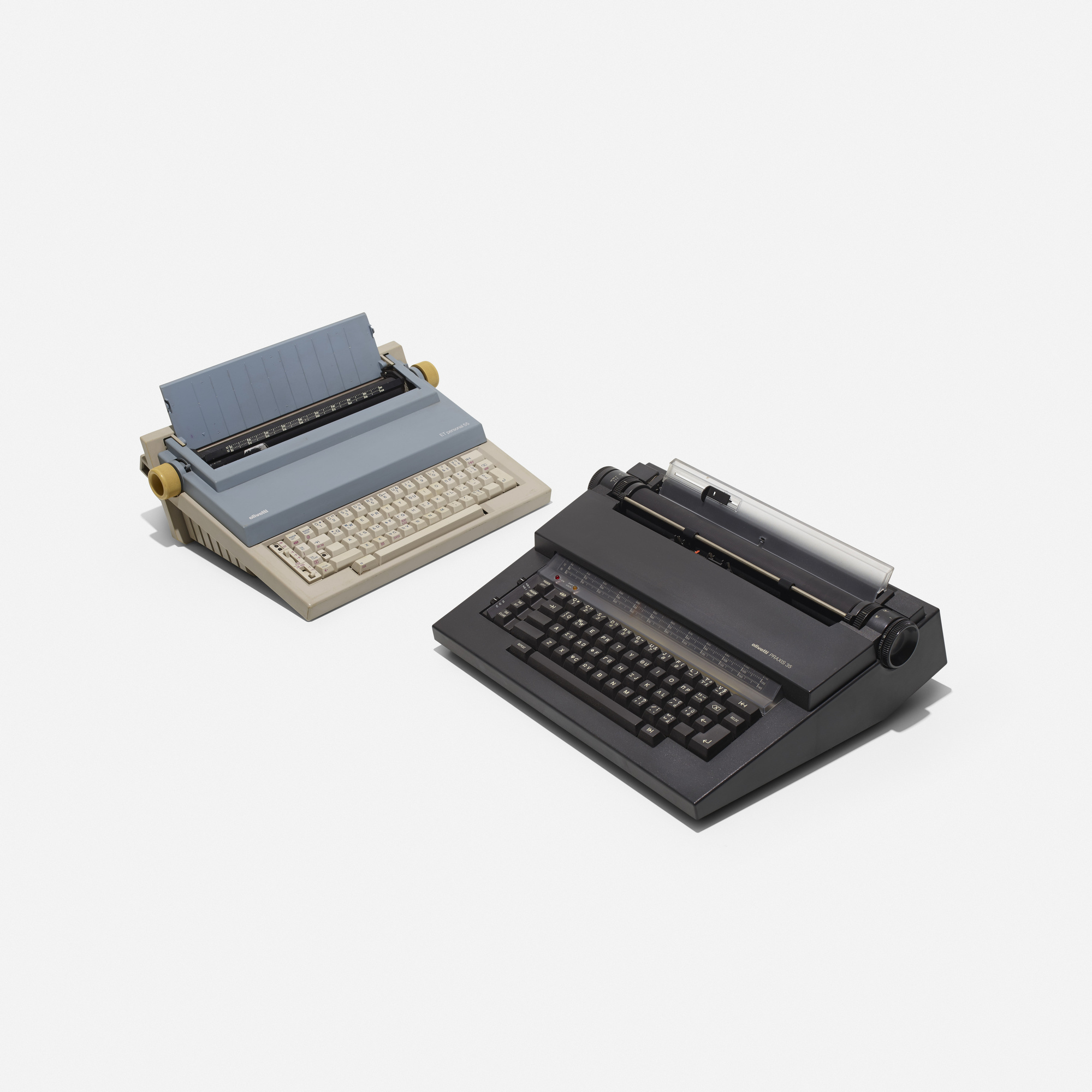 289: Mario Bellini / ET Personal 55 and Praxis typewriters (1 of 1)