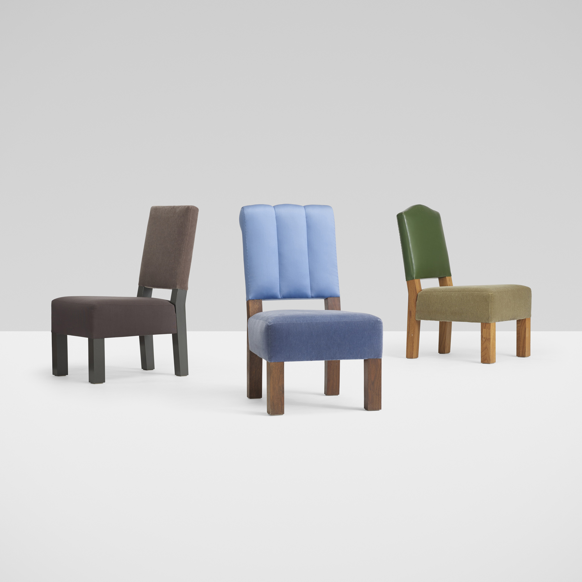 290: Roy McMakin / collection of three chairs for the Young residence, Chicago (1 of 4)