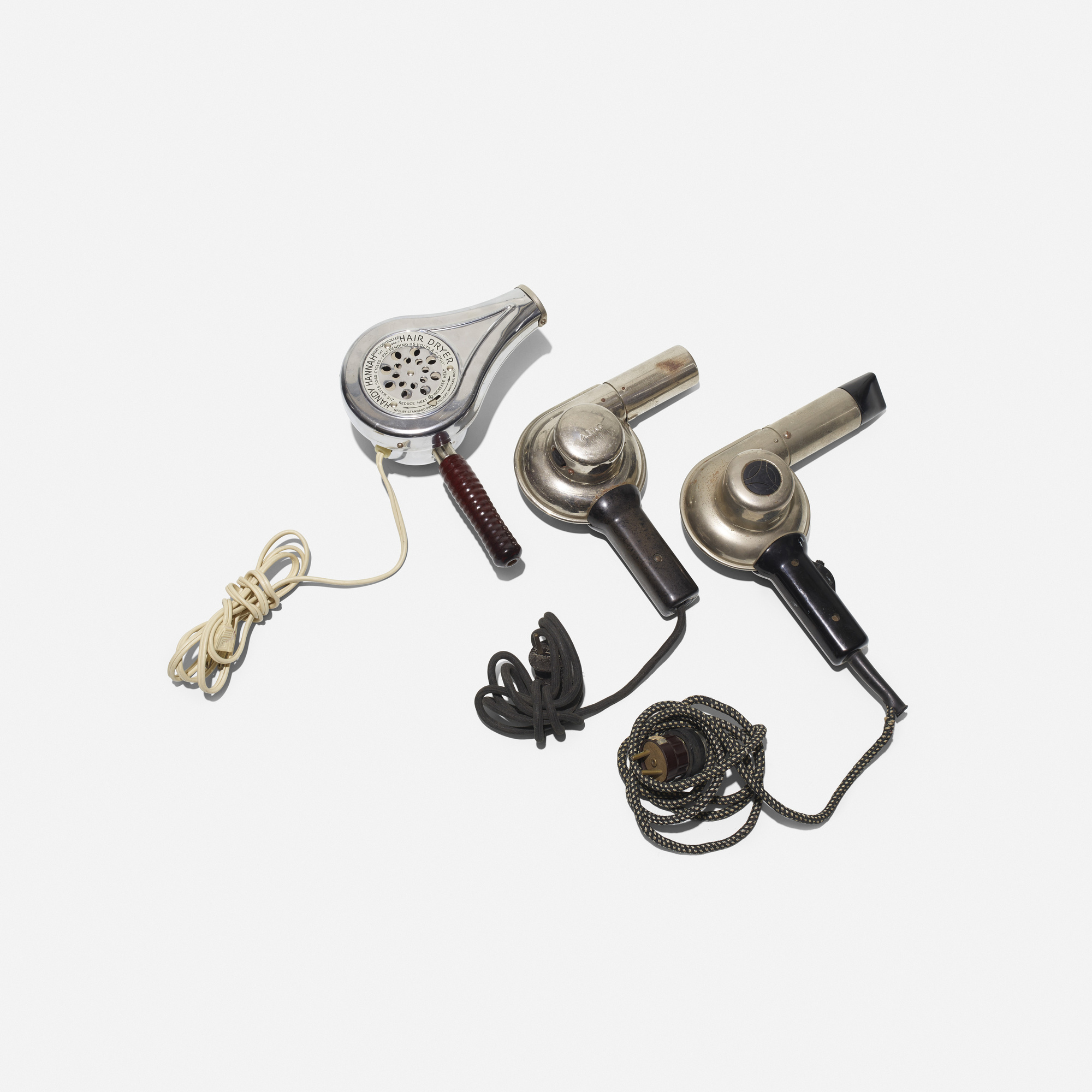 290: Various Artists / collection of three hairdryers (1 of 2)