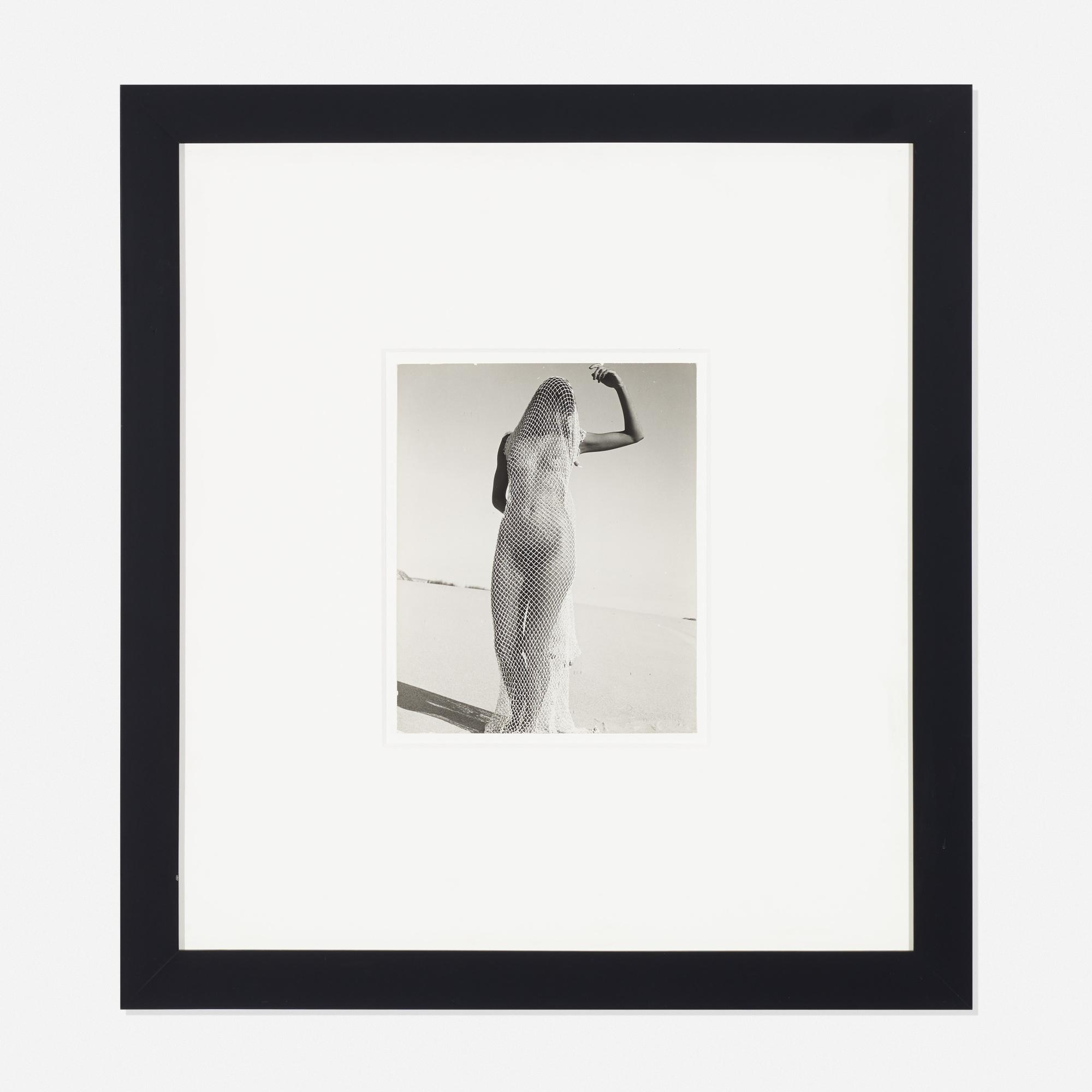 291: Herbert Matter / Mercedes, Nude in Net (1 of 1)