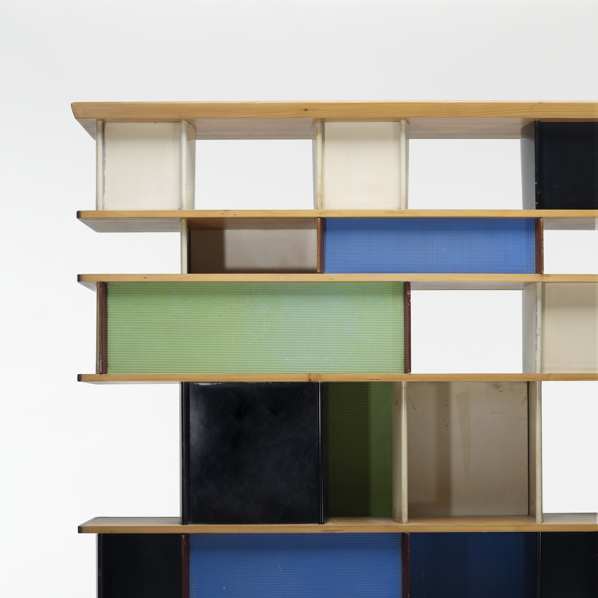 291 charlotte perriand biblioth que from the maison du mexique paris - Bibliotheque perriand ...