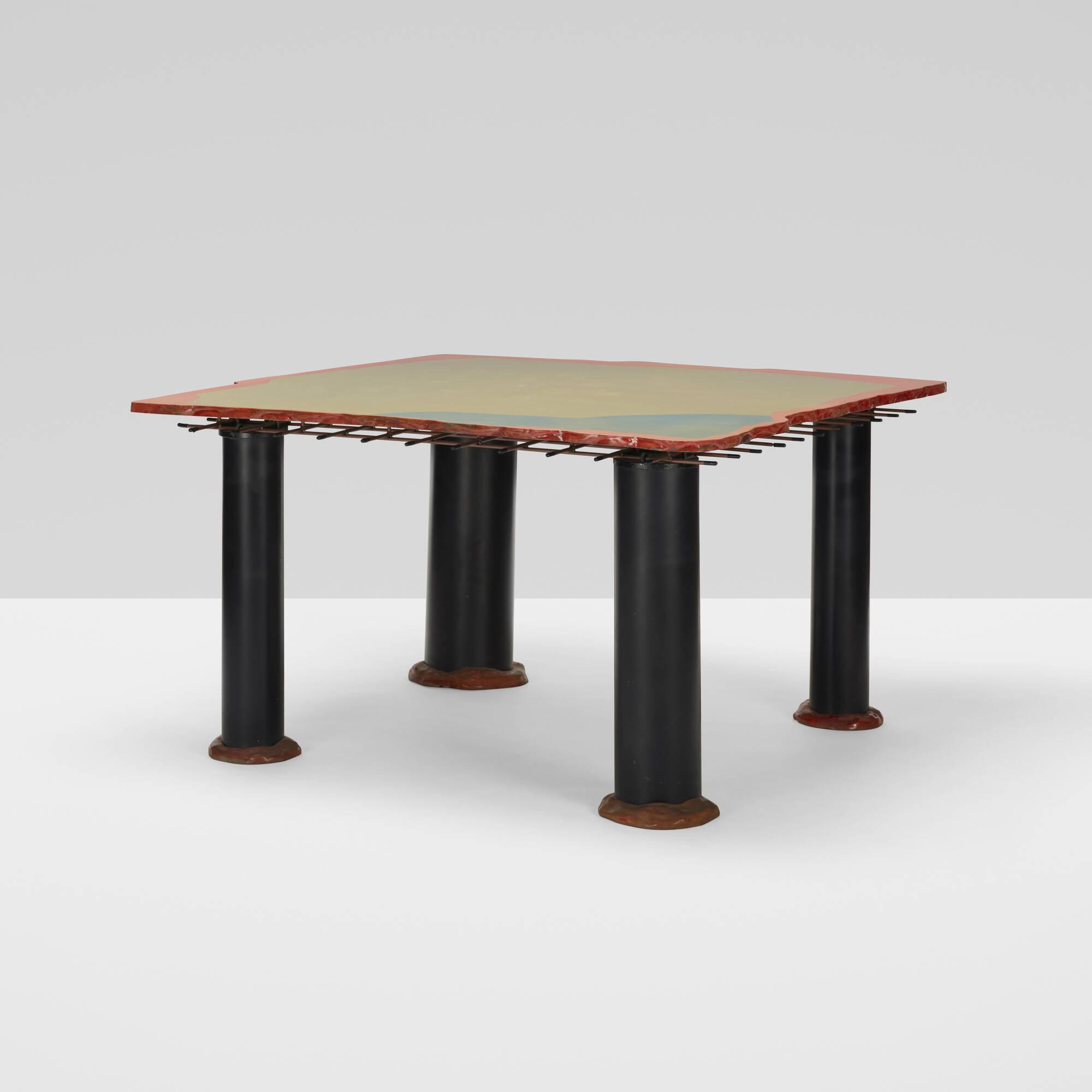292: Gaetano Pesce / Sansone II dining table (2 of 3)