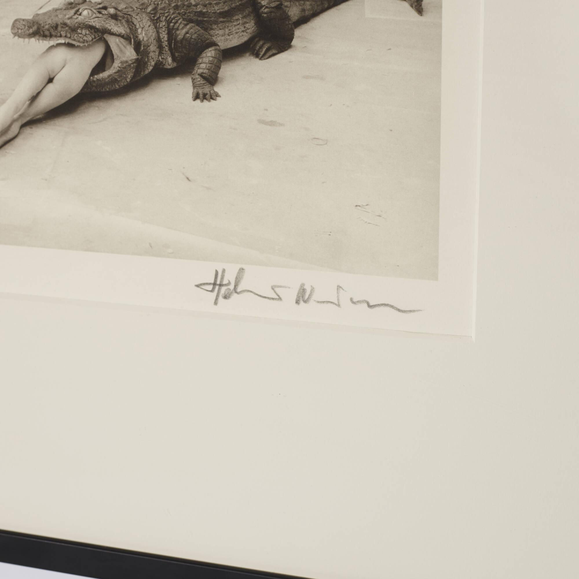 292: Helmut Newton / Crocodile Eating Ballerina (3 of 3)