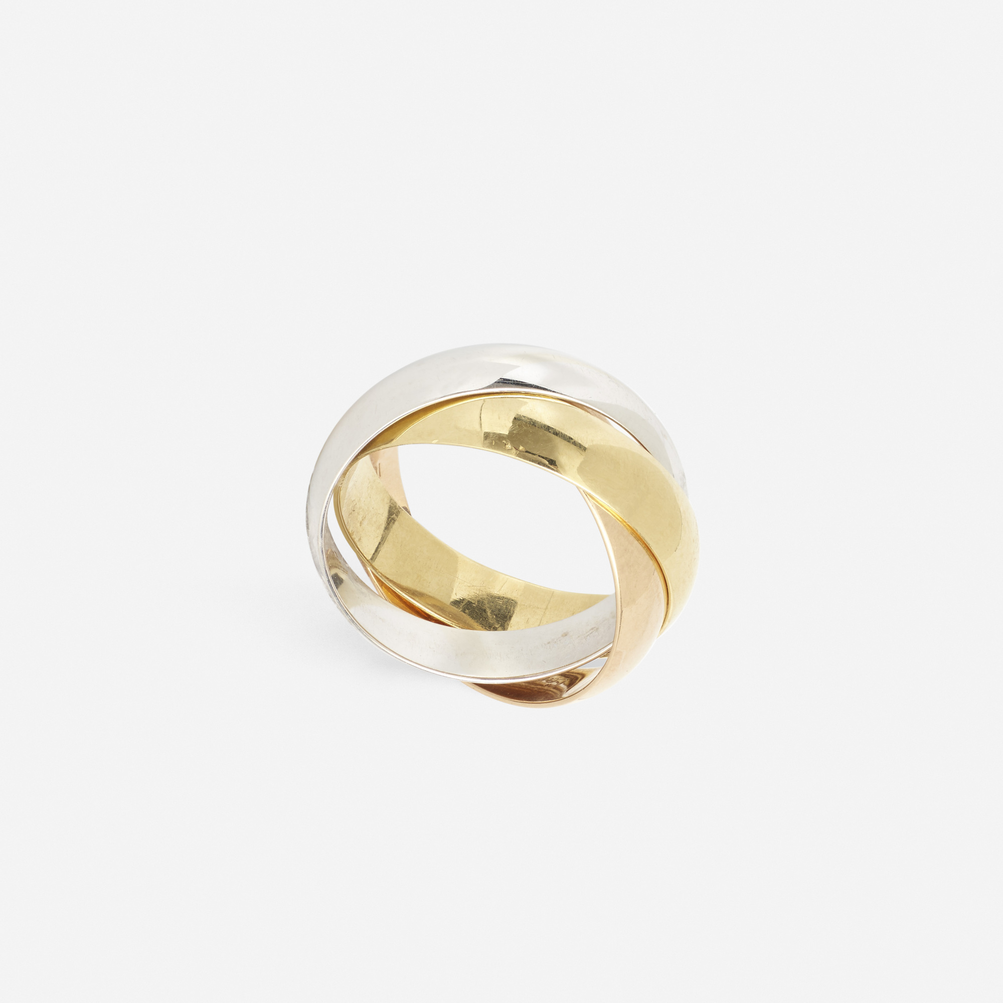 293: Cartier / A gold Trinity ring (1 of 2)