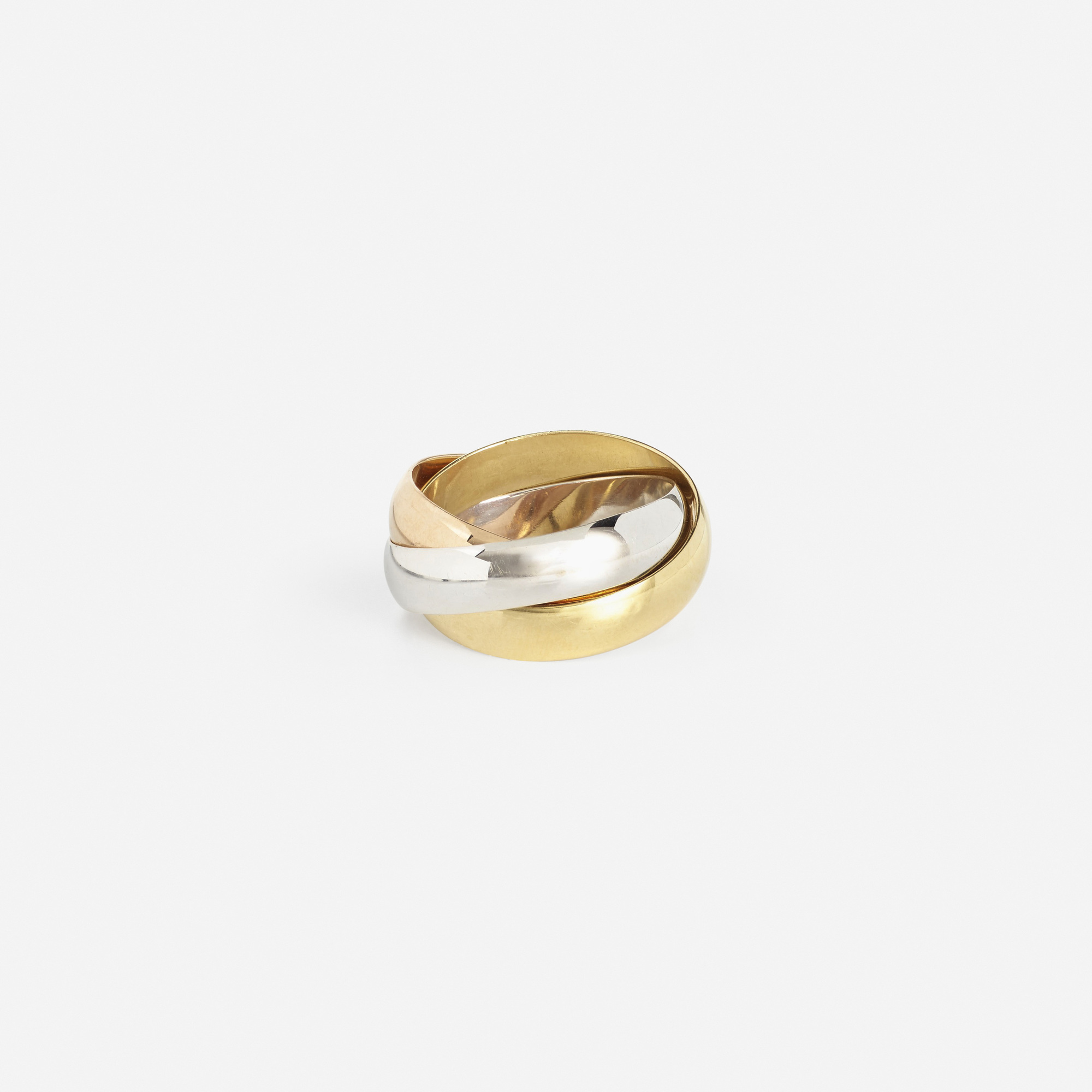 293: Cartier / A gold Trinity ring (2 of 2)