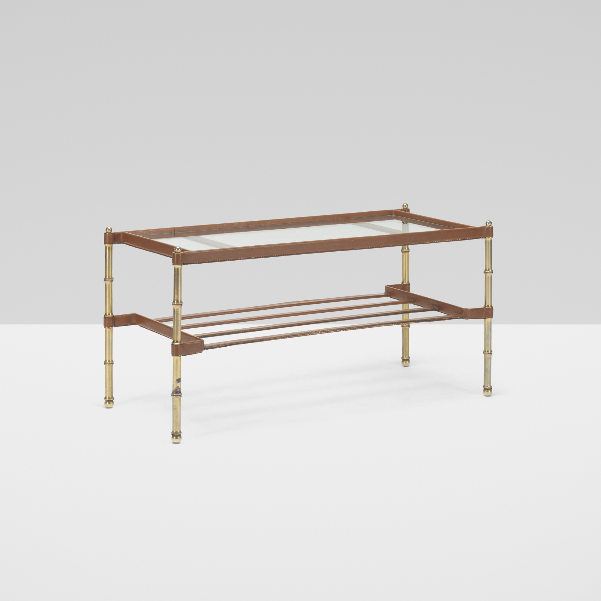 294: Jacques Adnet / coffee table (1 of 2)