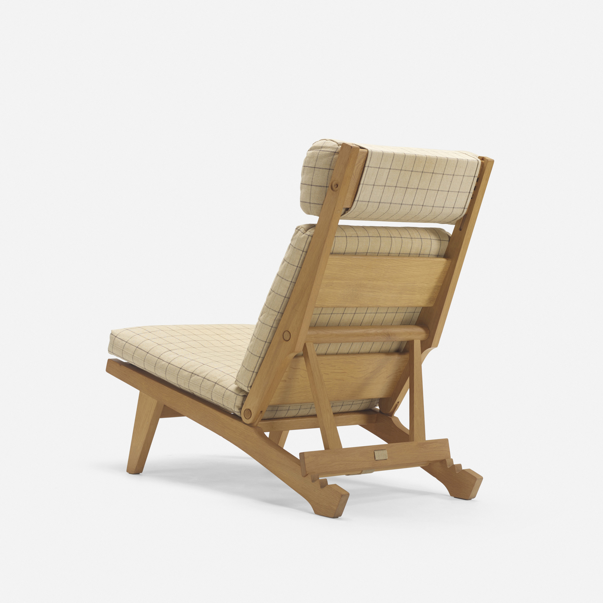 Charmant ... 294: Hans J. Wegner / Lounge Chair, Model GE375 (2 Of 3