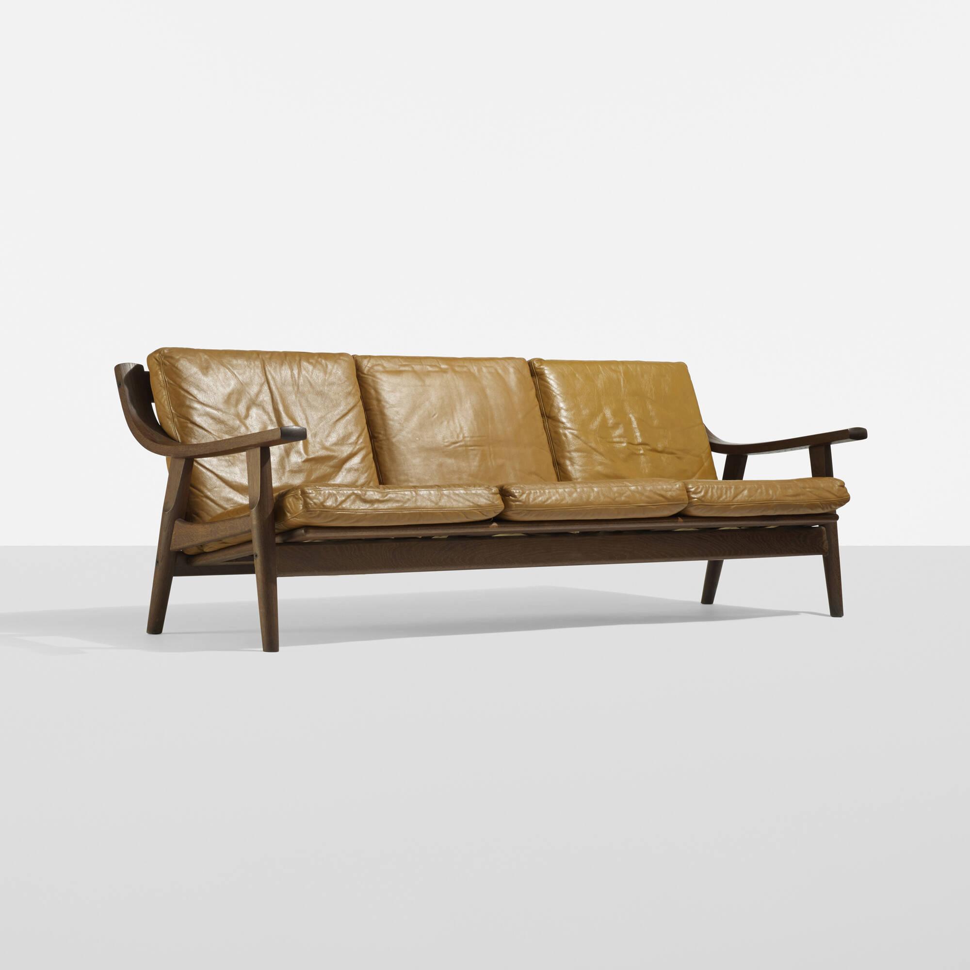 296 Hans J Wegner sofa Scandinavian Design 20 November 2014