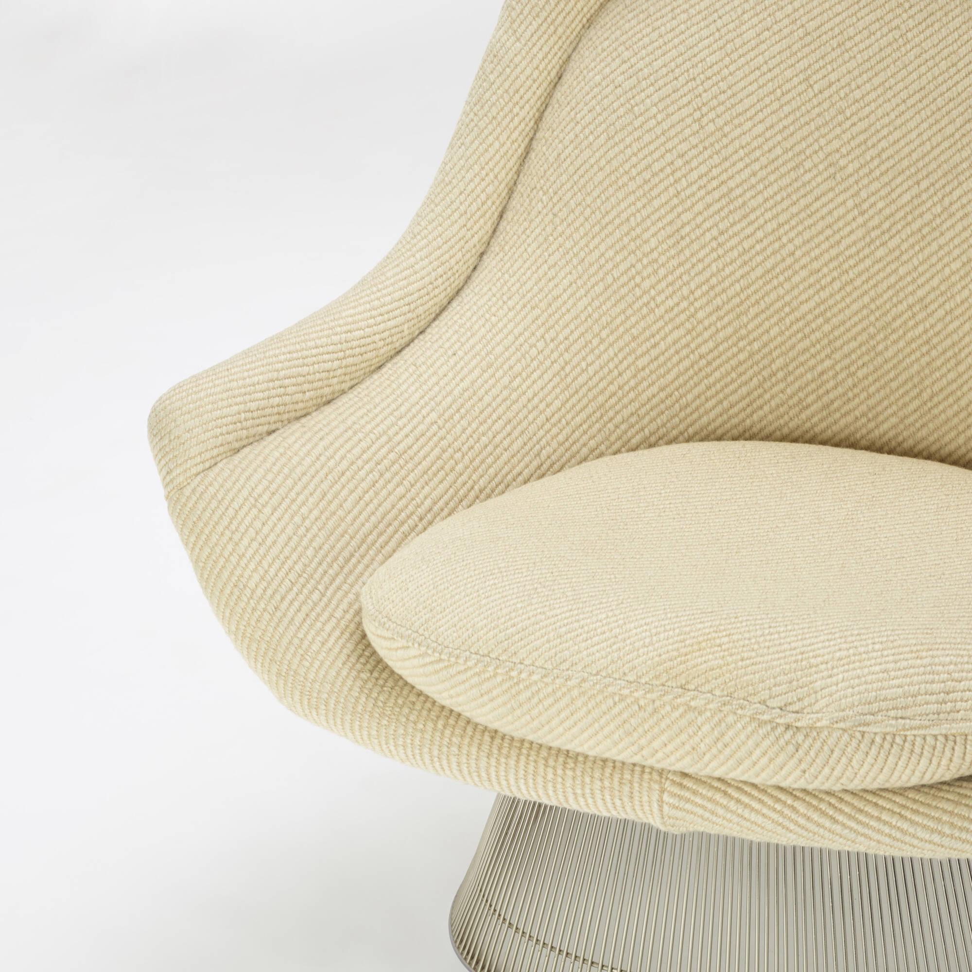 296: Warren Platner / lounge chairs, pair (3 of 4)