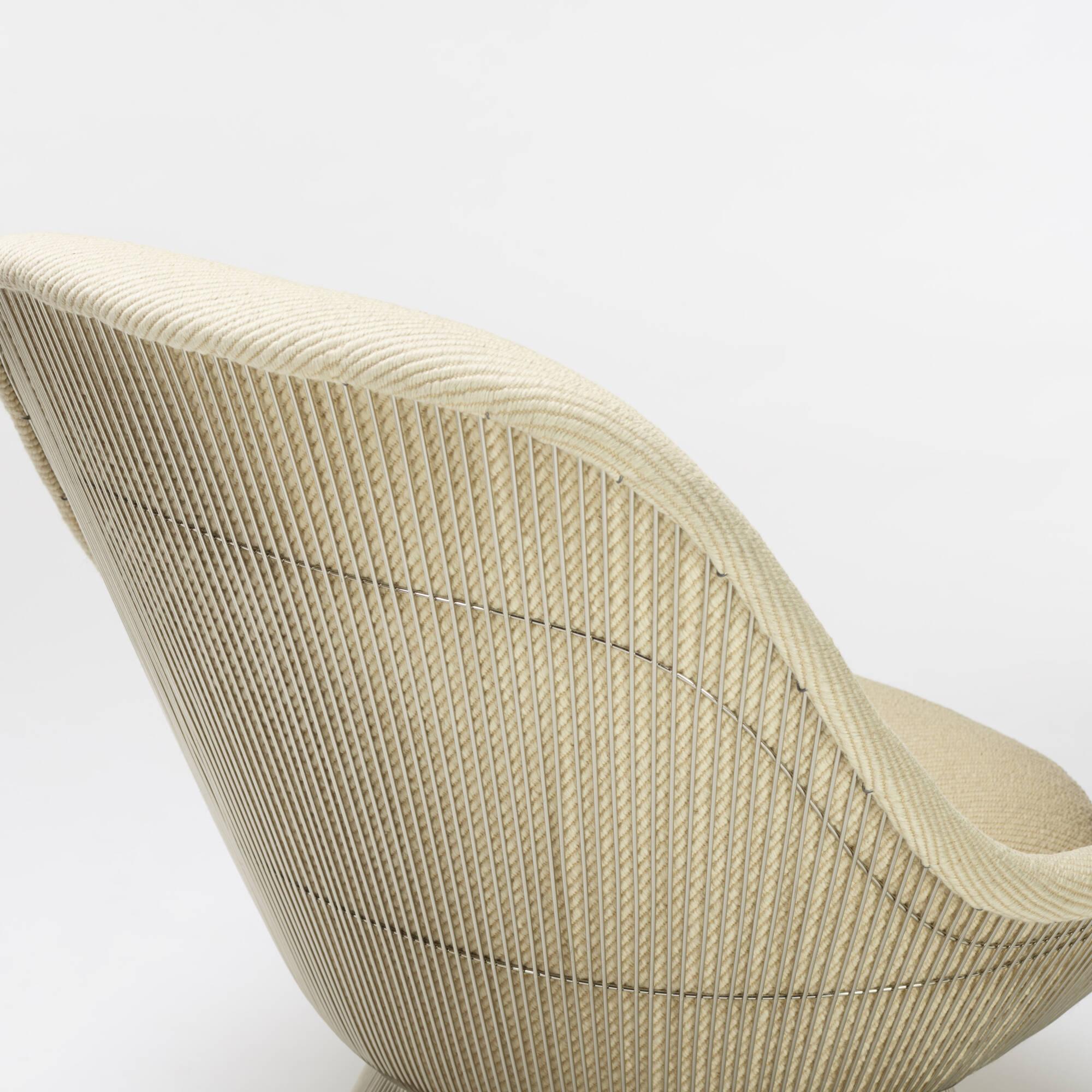 296: Warren Platner / lounge chairs, pair (4 of 4)