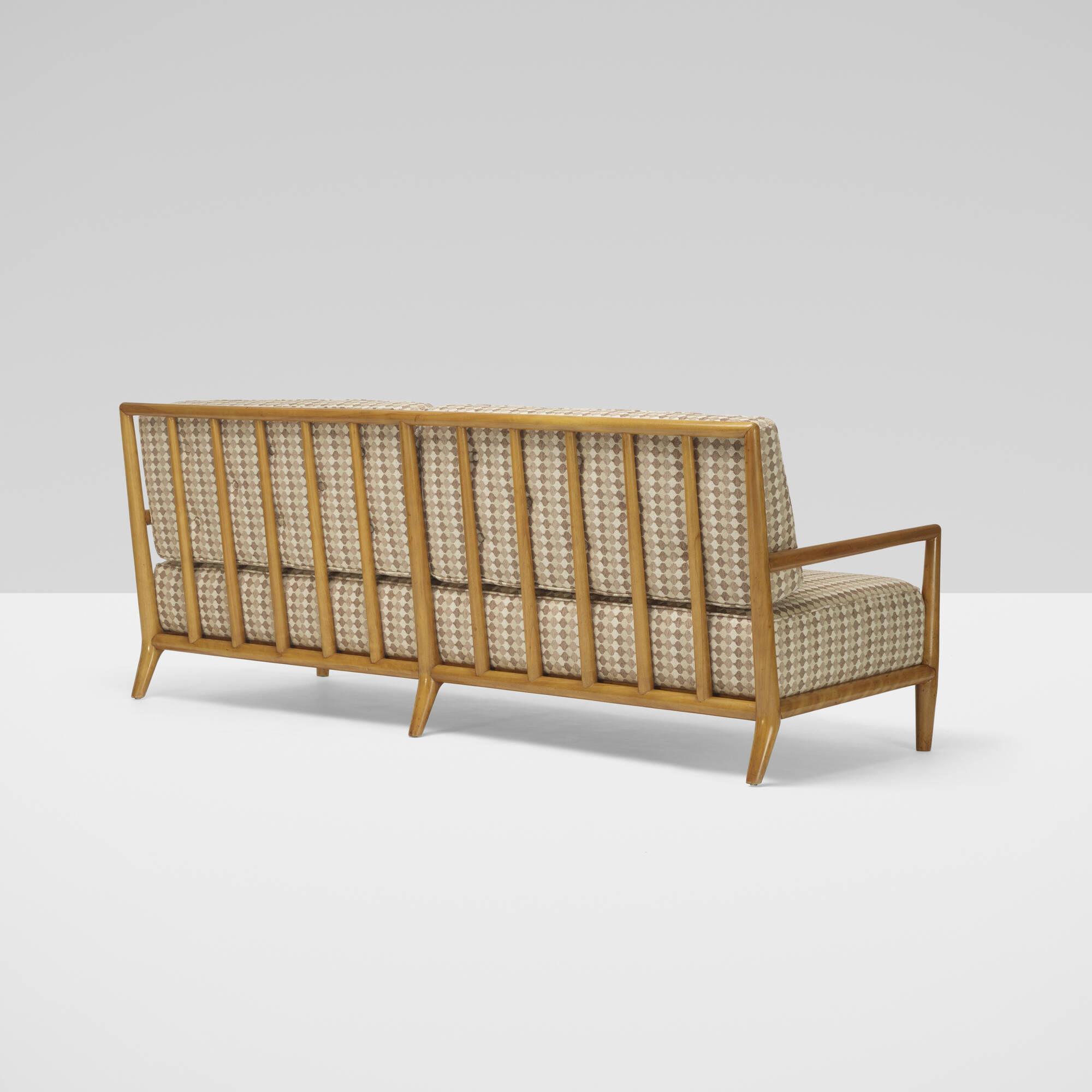 297: T.H. Robsjohn-Gibbings / sofa, model 1678 (1 of 2)