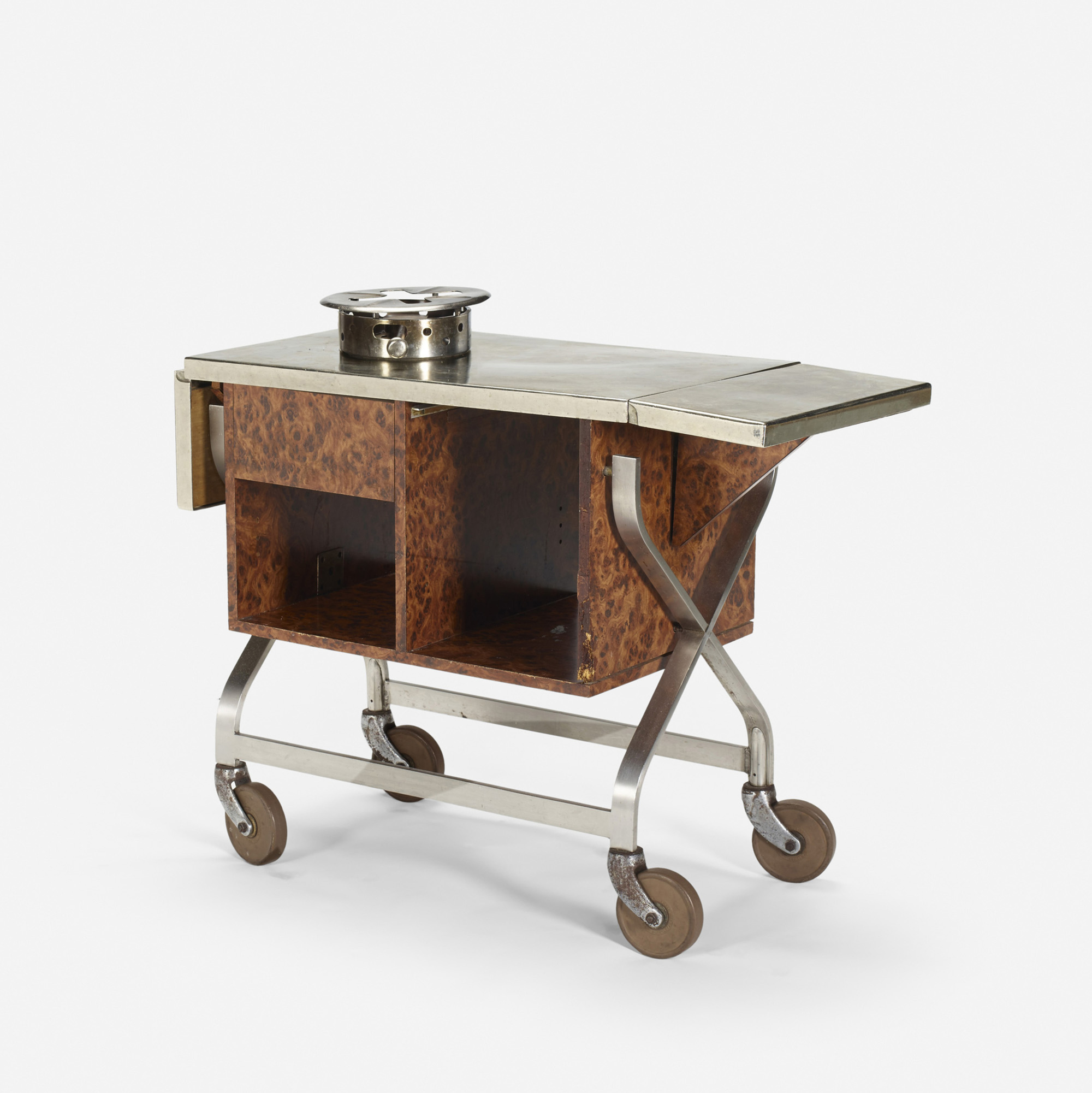 297: Garth and Ada Louise Huxtable / Serving cart from The Four Seasons (1 of 1)