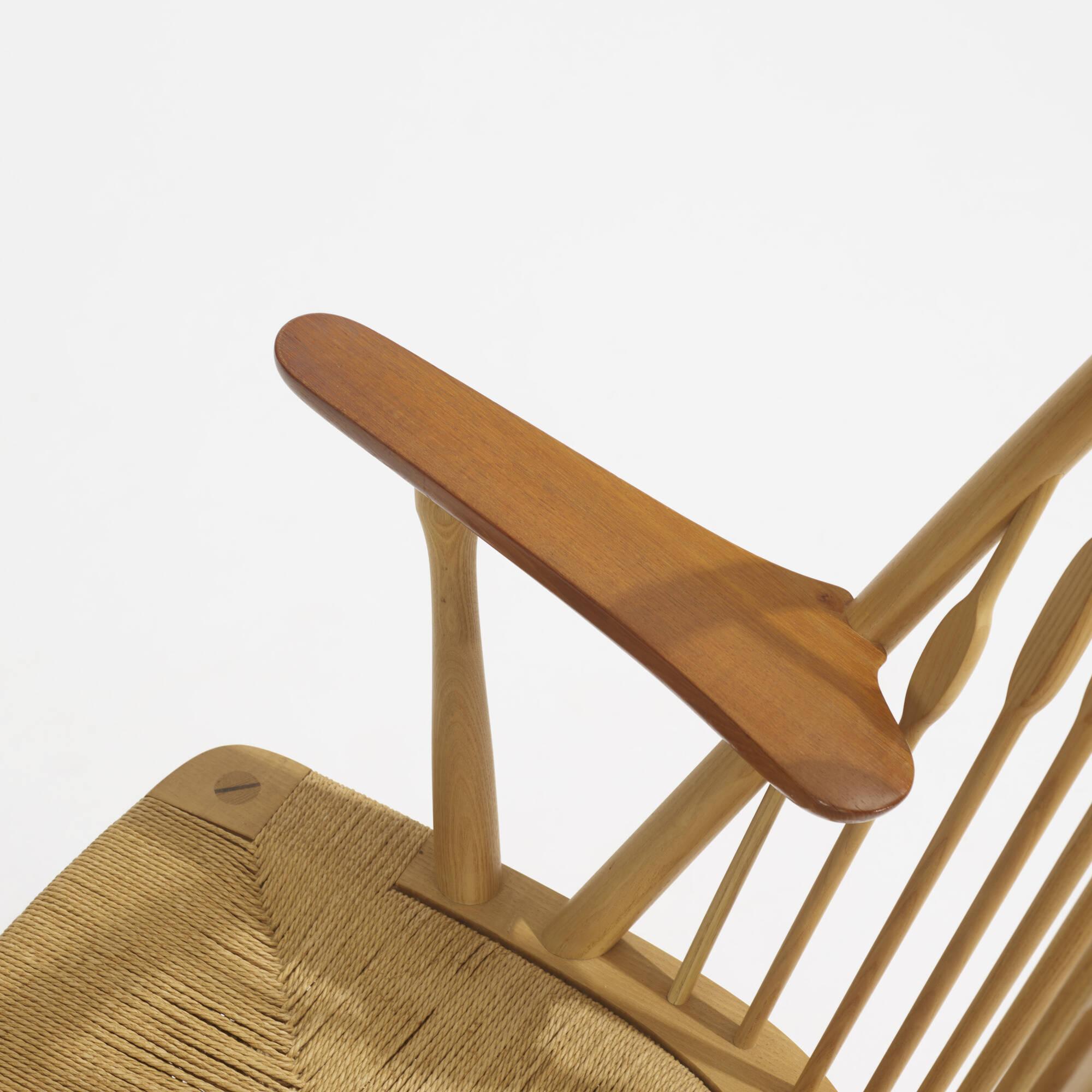 297: Hans J. Wegner / Peacock chairs, pair (3 of 4)