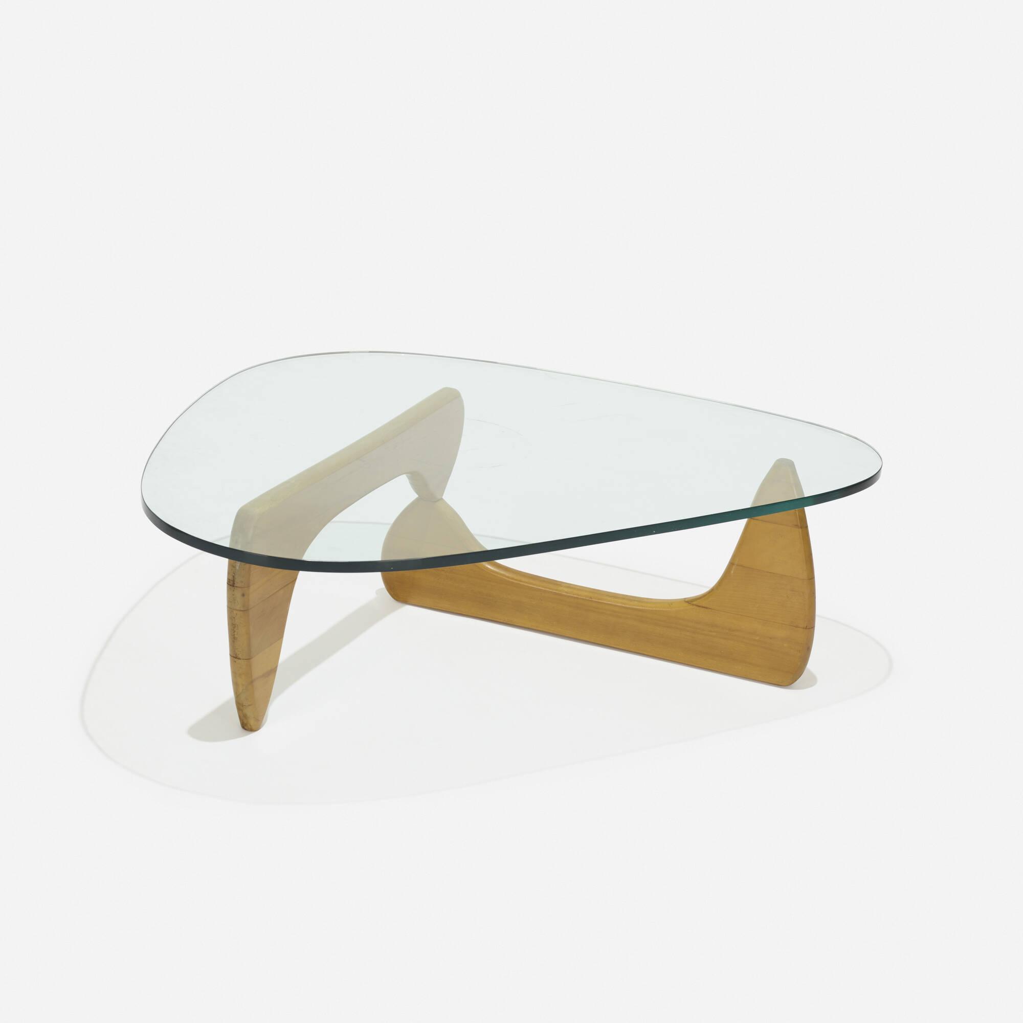 298 Isamu Noguchi coffee table model IN50 American Design