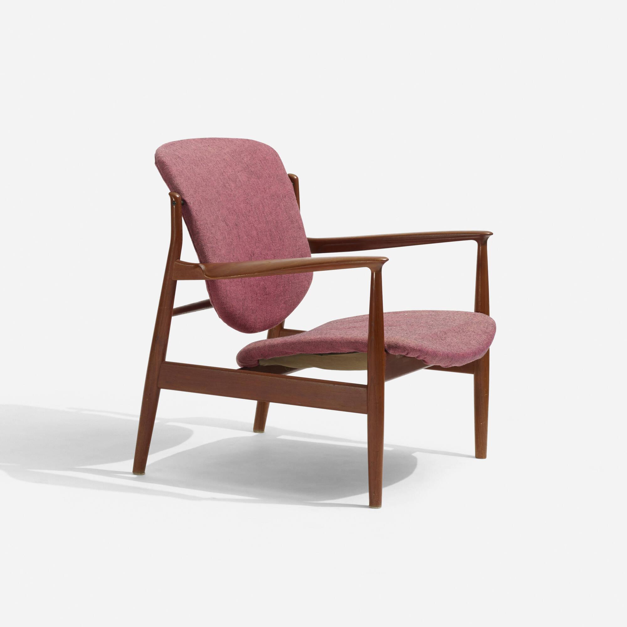298: Finn Juhl / lounge chair (1 of 2)