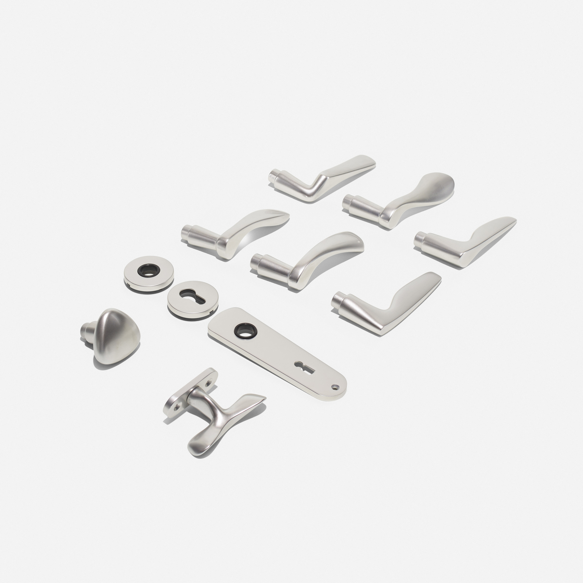 298: Johannes Potente / door hardware set (1 of 2)