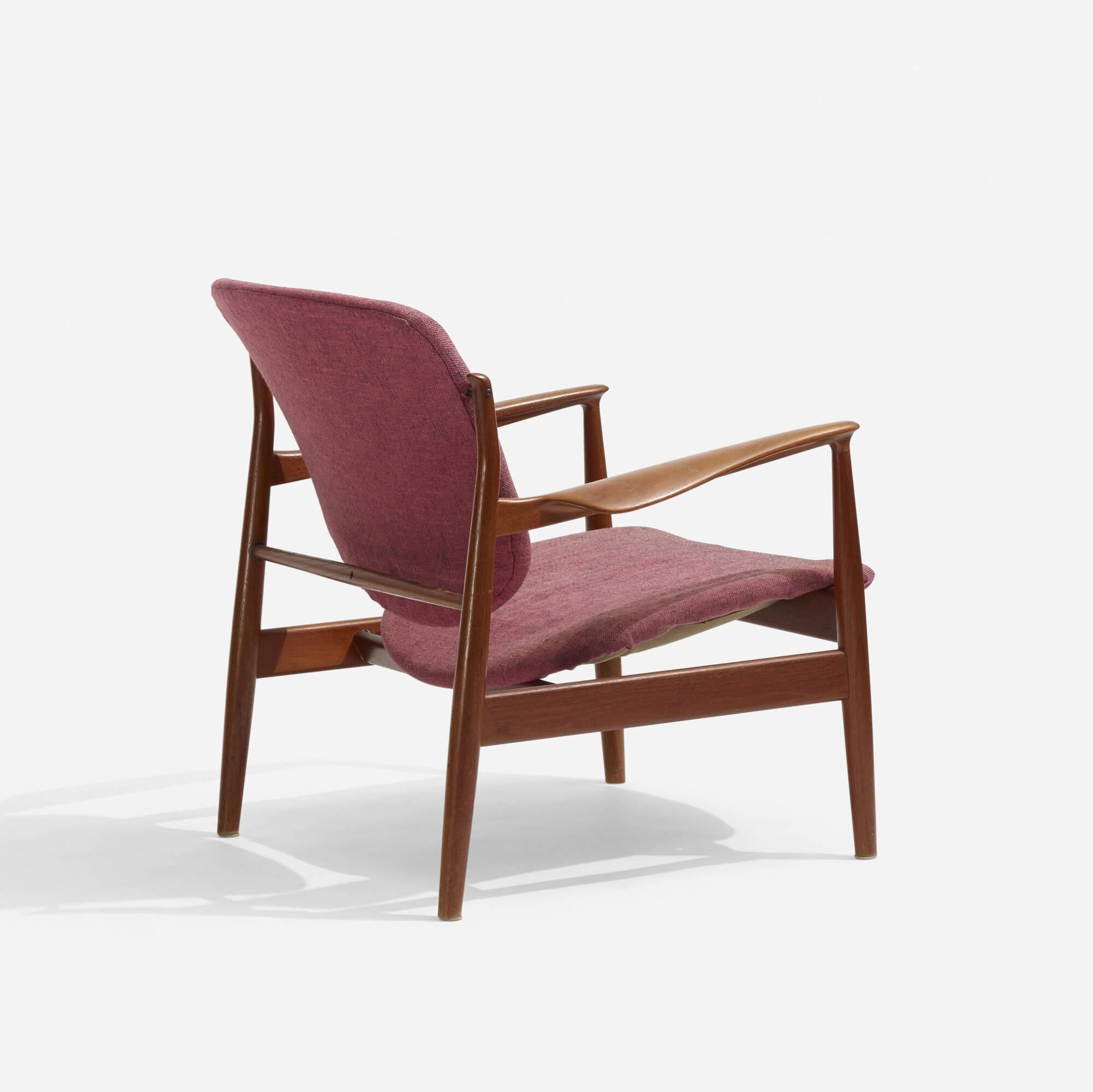 298: Finn Juhl / lounge chair (2 of 2)
