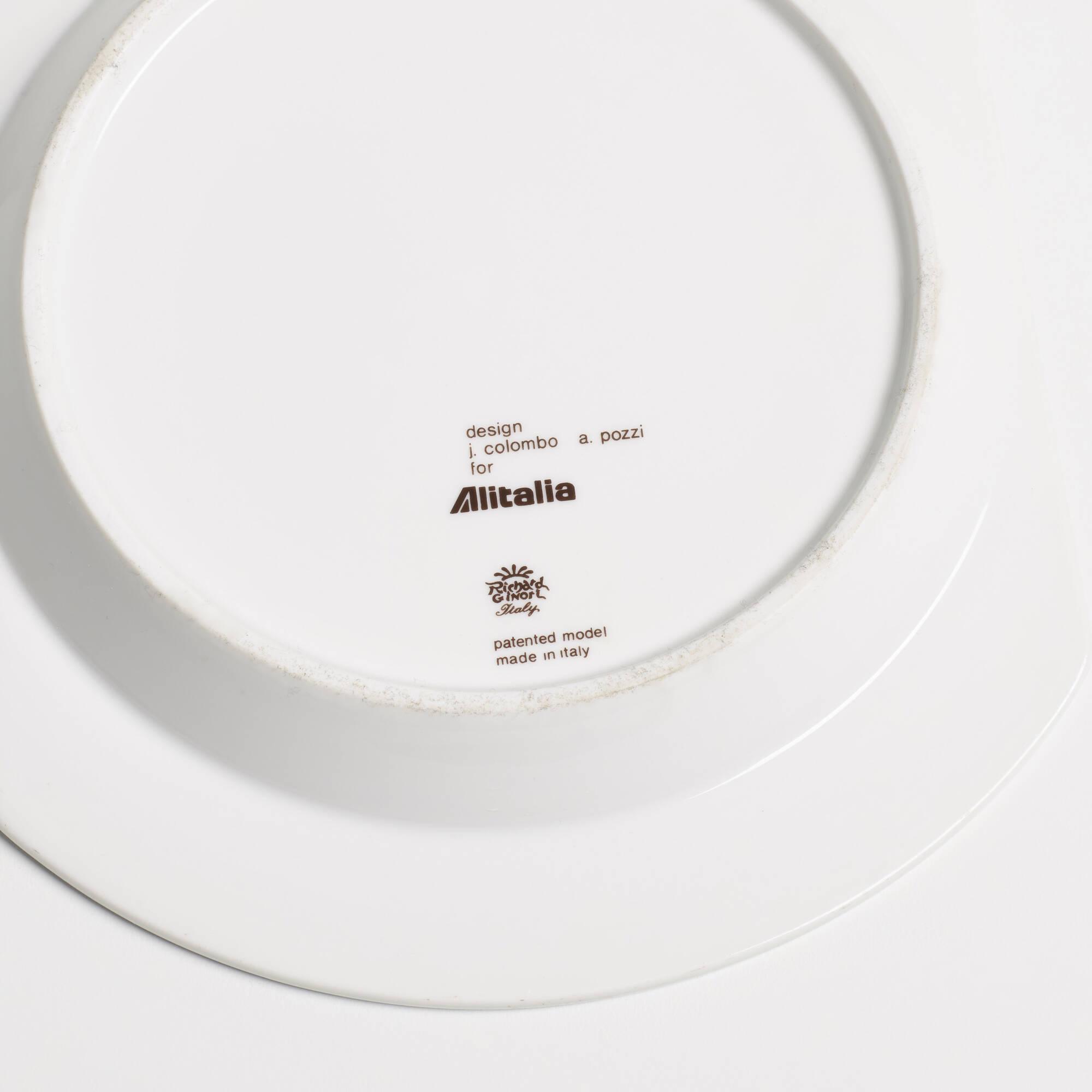 ... 298 Joe Colombo / Linea 72 tableware for Alitalia (3 of 3)  sc 1 st  Wright Auctions & 298: JOE COLOMBO Linea 72 tableware for Alitalia \u003c Furniture Pimp ...
