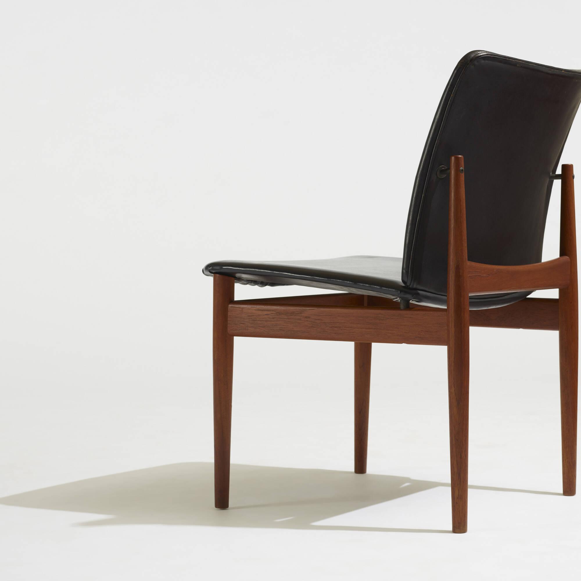 298: Finn Juhl / chairs, set of eight (5 of 5)