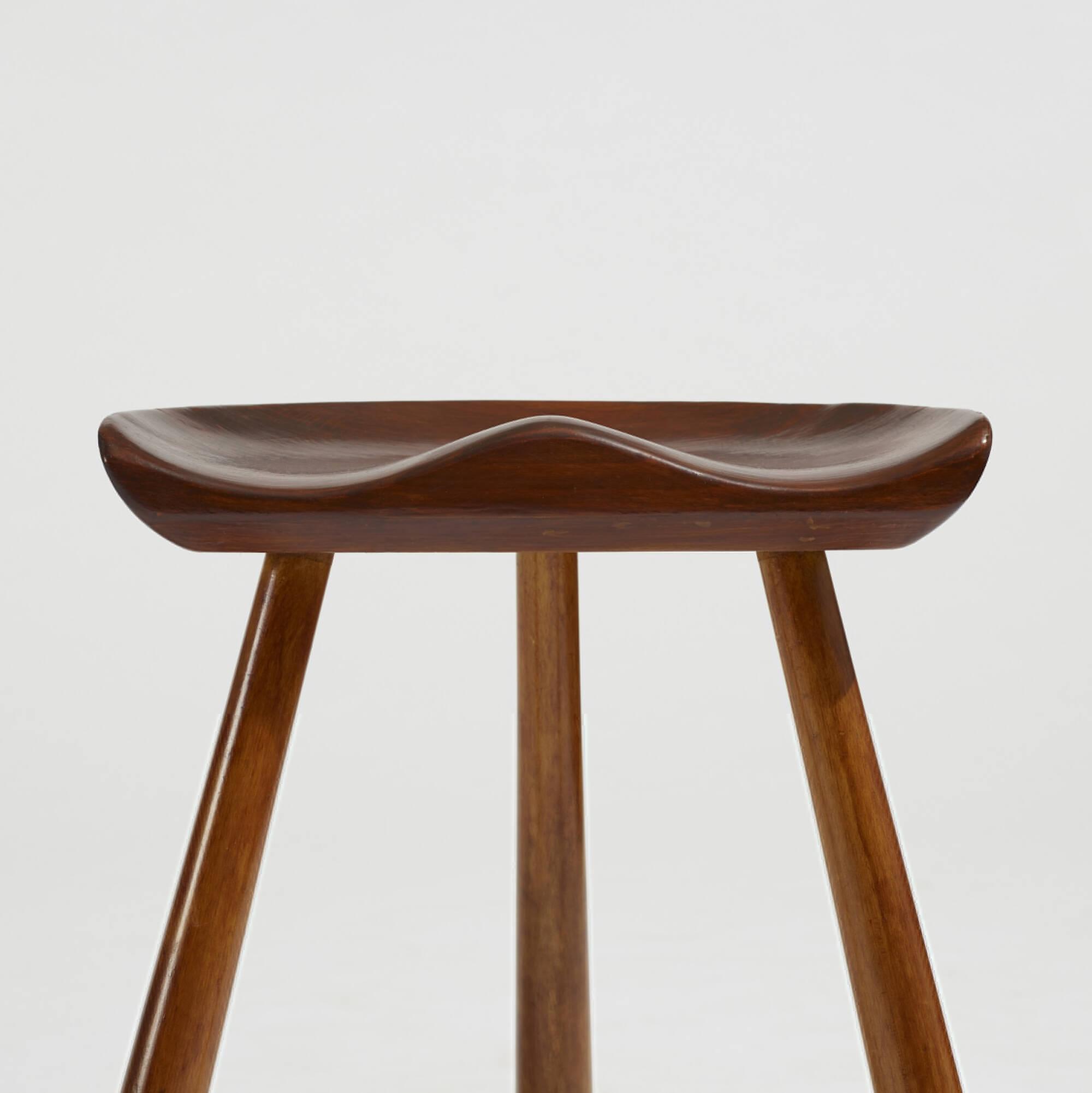 299: Arne Hovmand-Olsen / stools, pair (2 of 3)