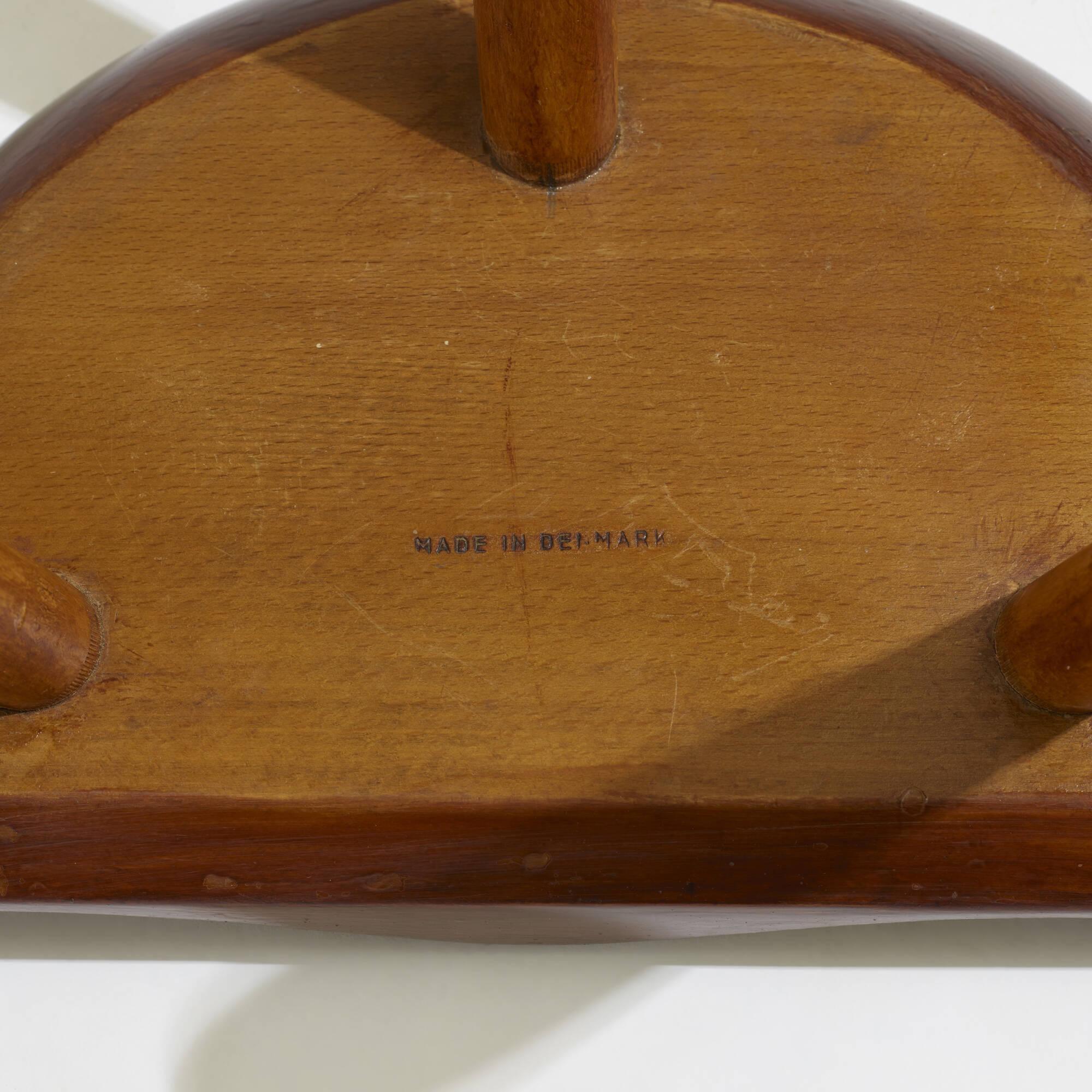 299: Arne Hovmand-Olsen / stools, pair (3 of 3)