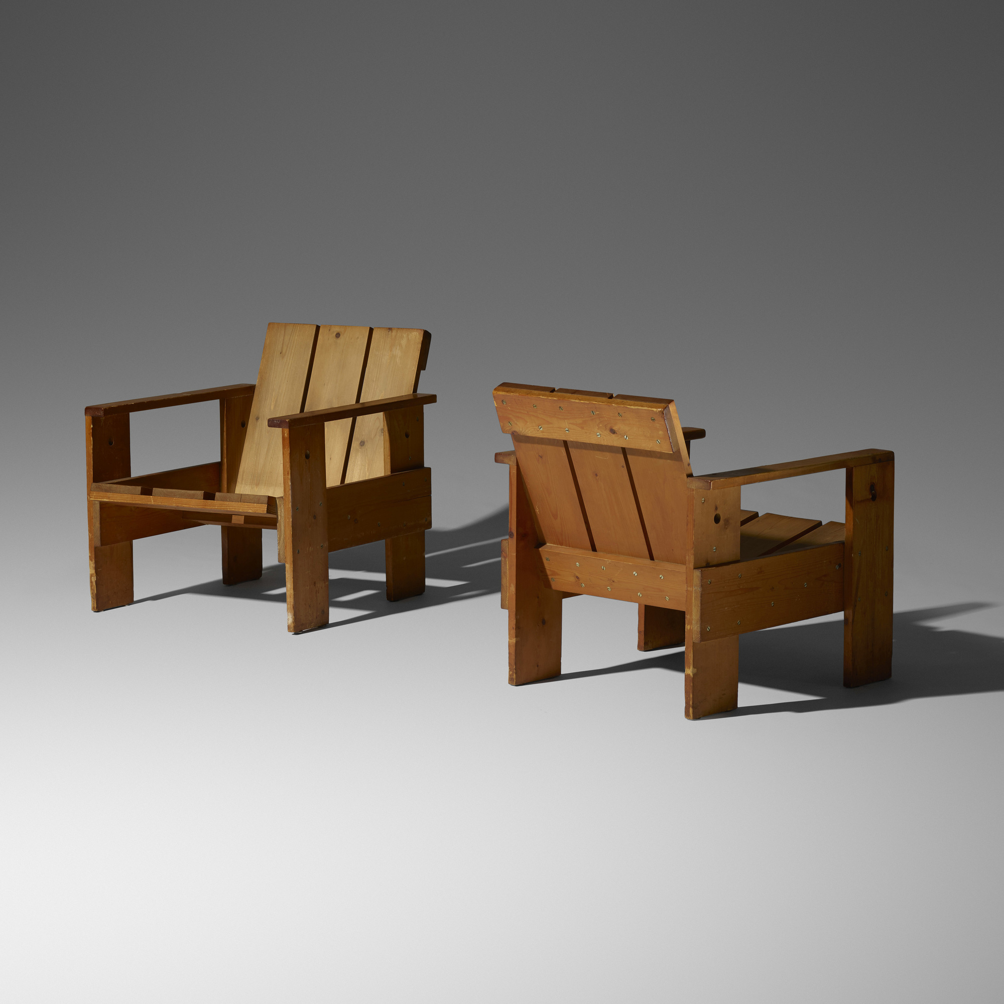 Outstanding 29 Gerrit Rietveld Crate Chairs Pair The Boyd Download Free Architecture Designs Scobabritishbridgeorg